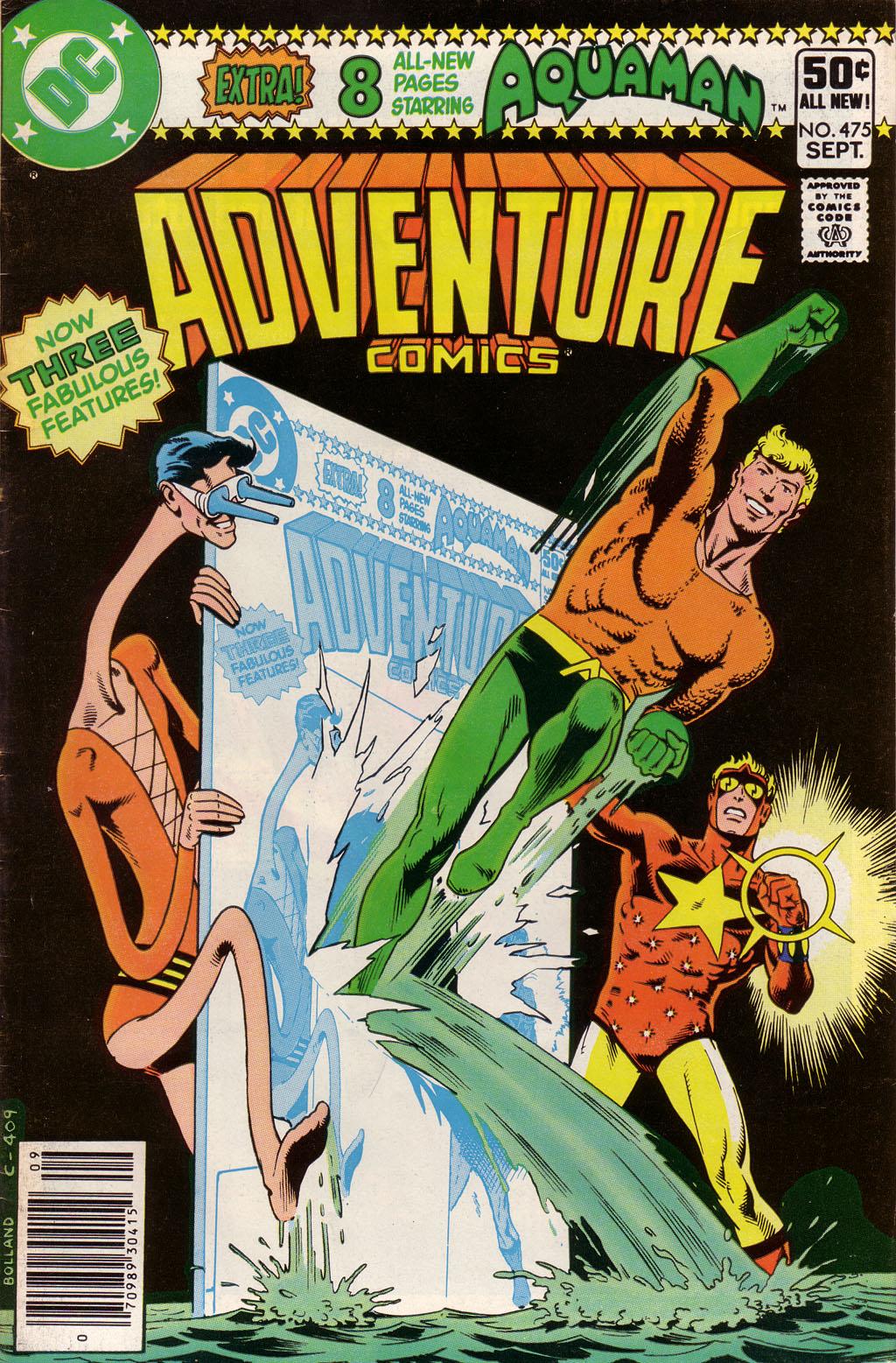 Adventure Comics (1938) 475 Page 1