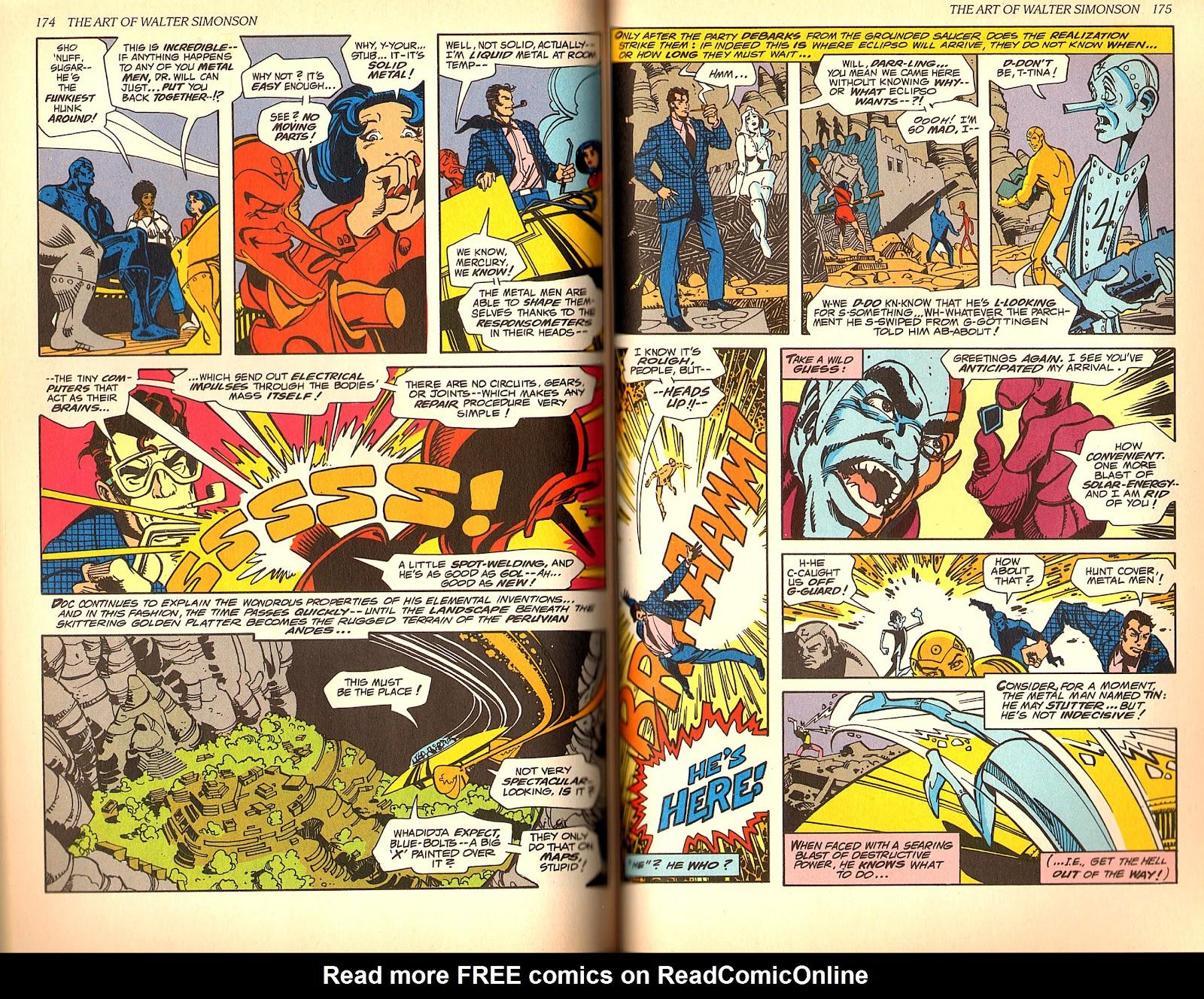 Read online The Art of Walter Simonson comic -  Issue # TPB - 89
