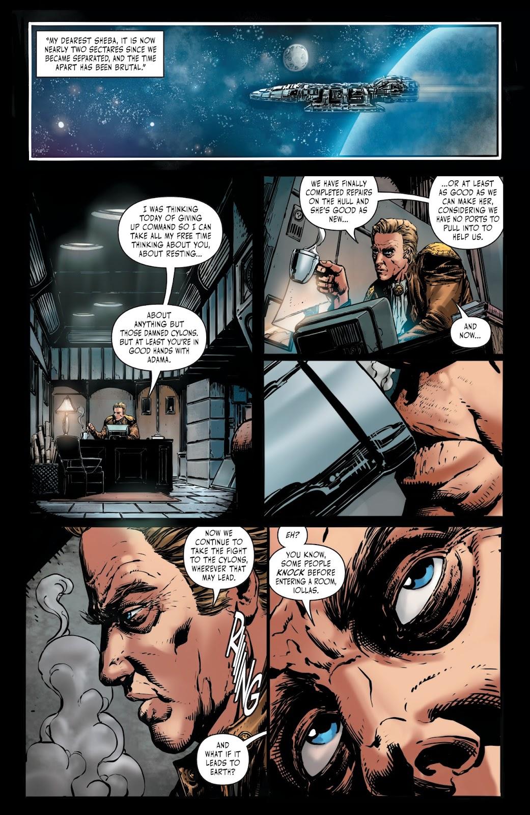 Battlestar Galactica BSG vs. BSG issue 1 - Page 6
