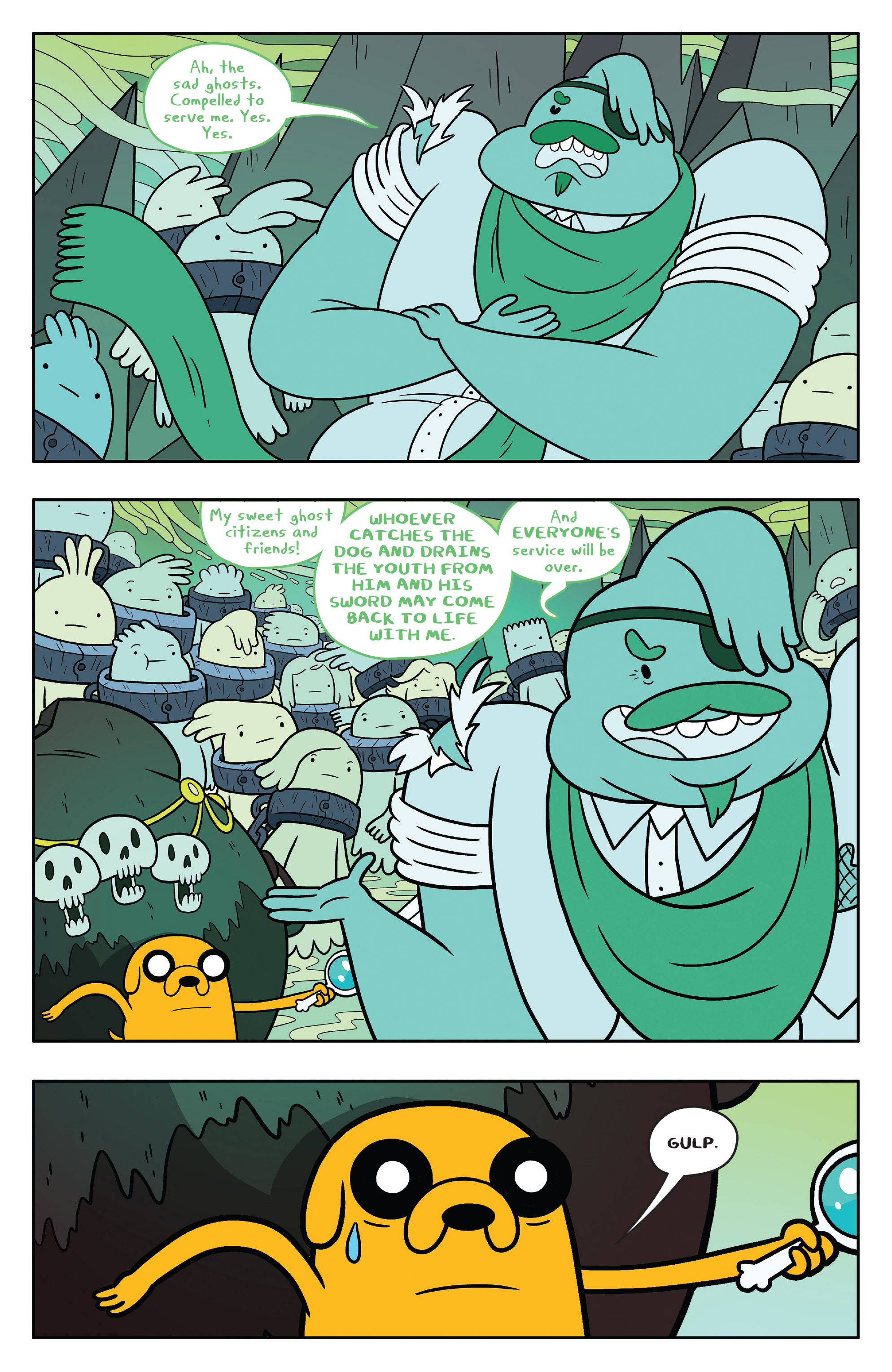 Read online Adventure Time comic -  Issue #53 - 17