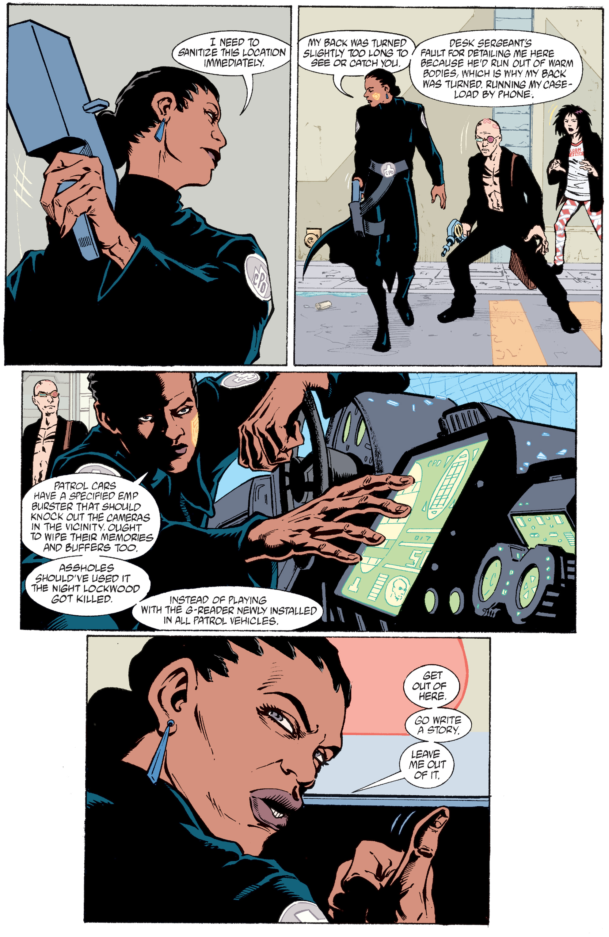 Read online Transmetropolitan comic -  Issue #30 - 11