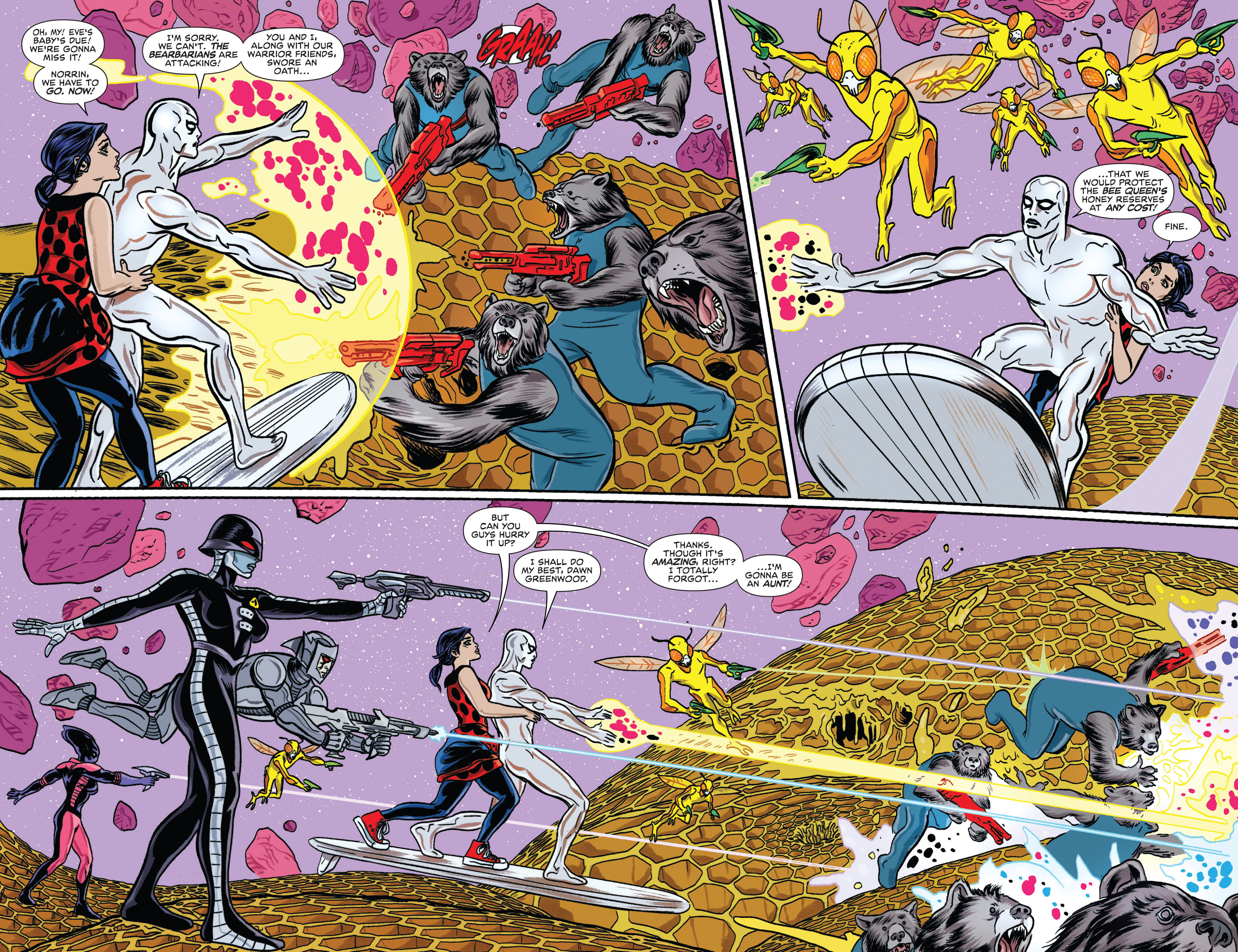 Read online Silver Surfer (2016) comic -  Issue #11 - 6
