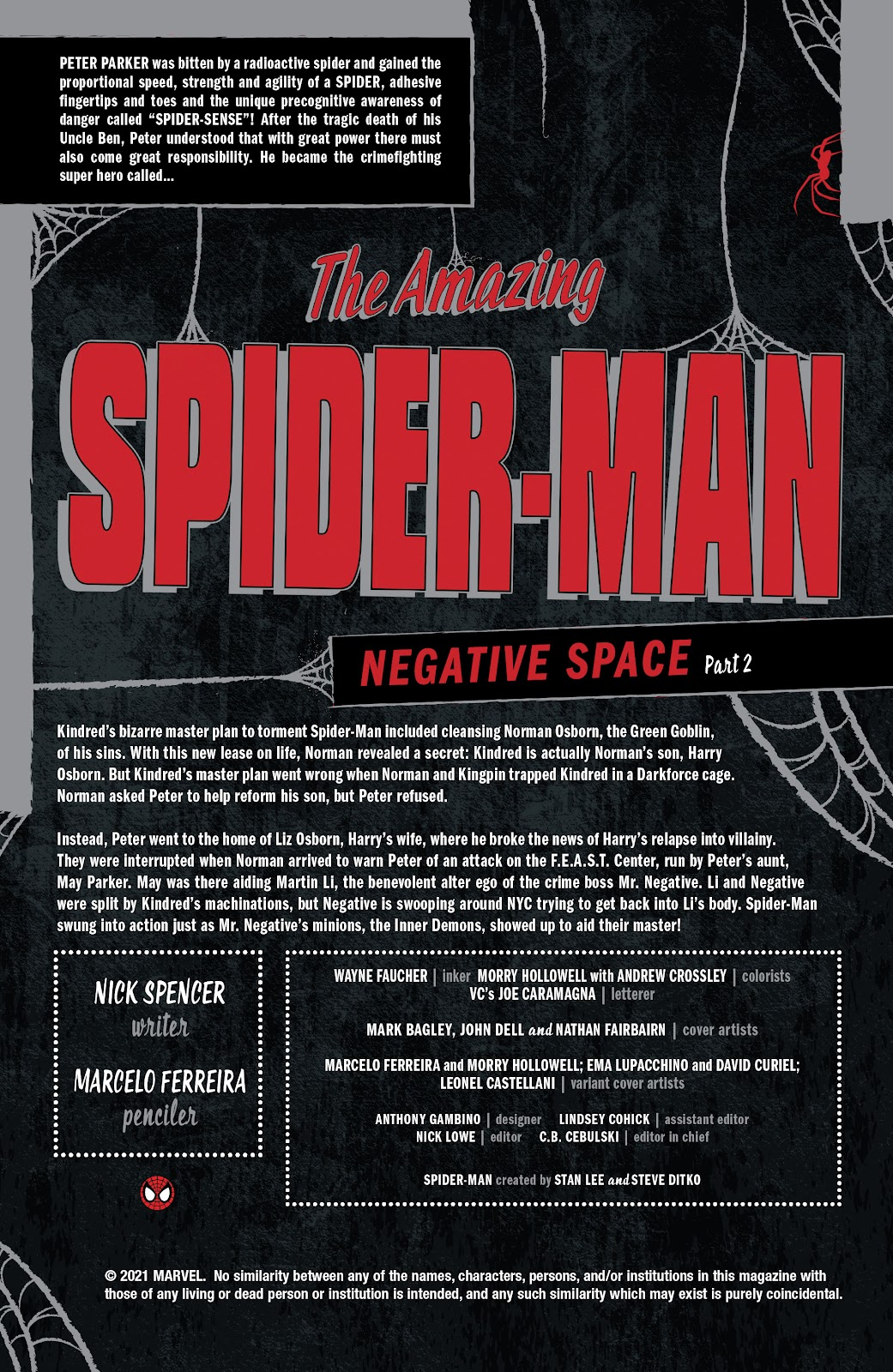 The Amazing Spider-Man (2018) issue 59 - Page 2