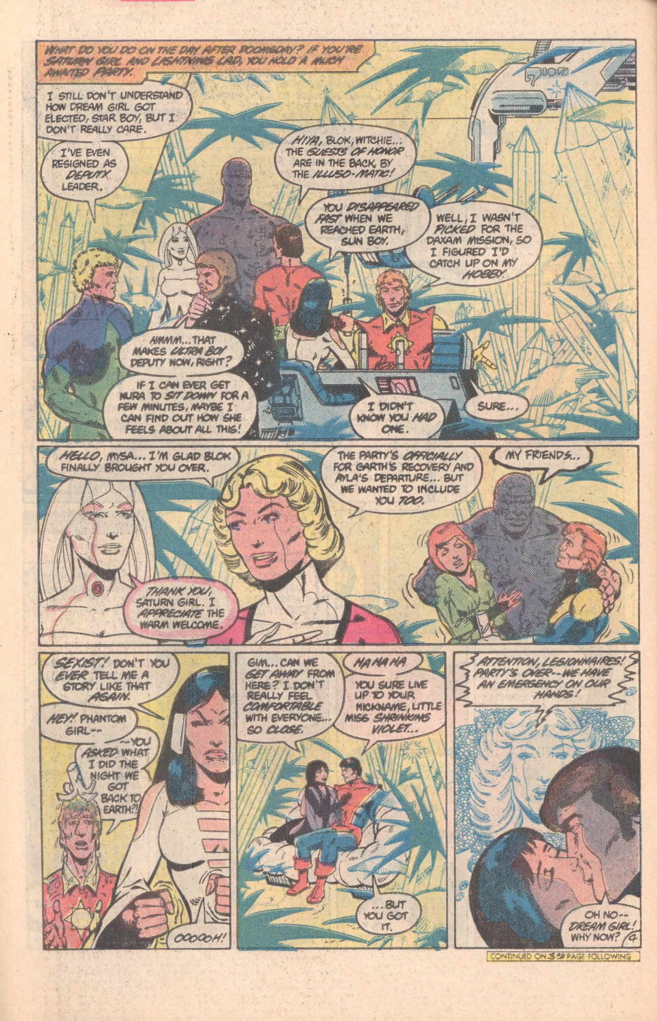 Legion of Super-Heroes (1980) 296 Page 4