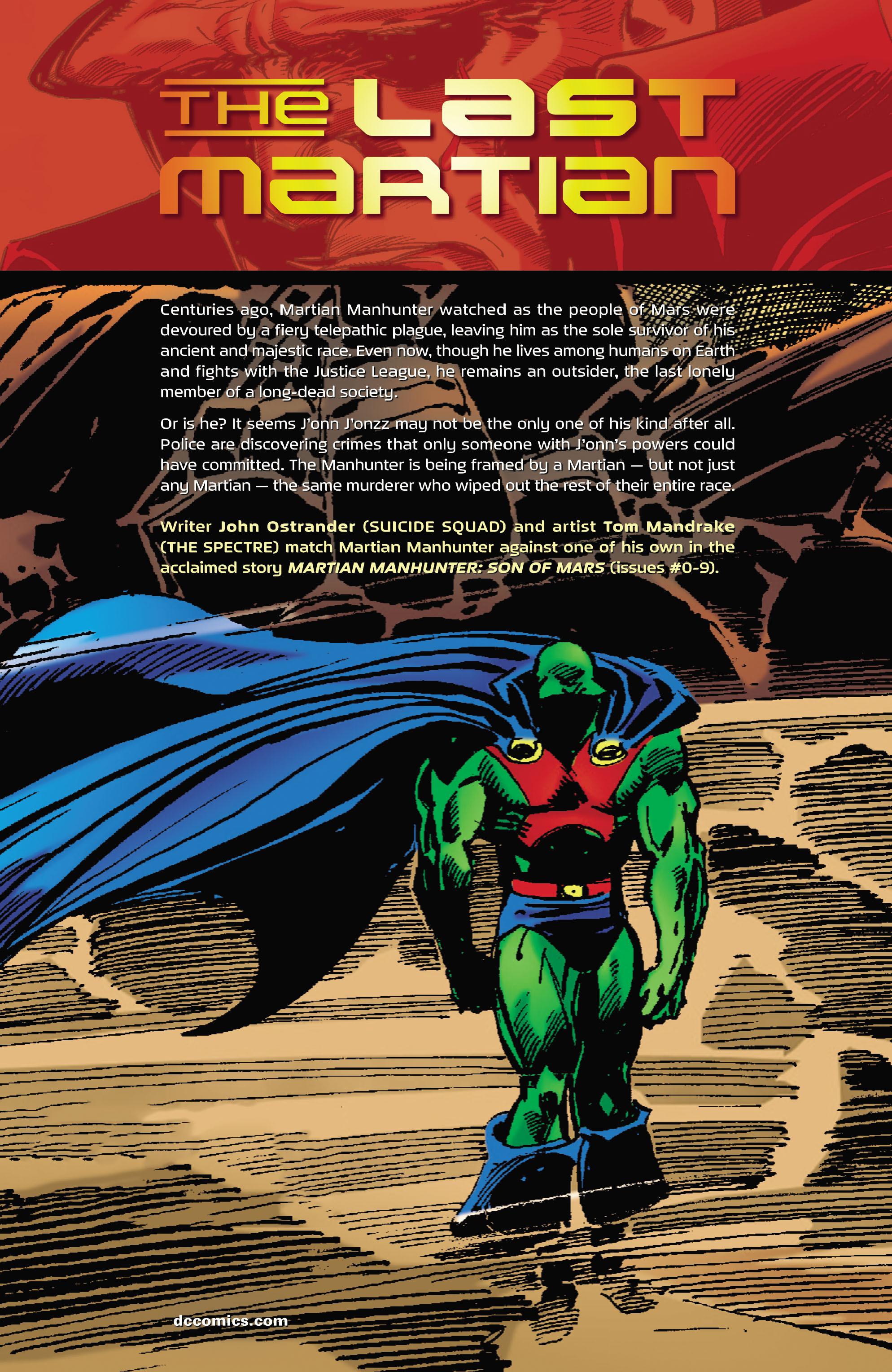 Read online Martian Manhunter: Son of Mars comic -  Issue # TPB - 2