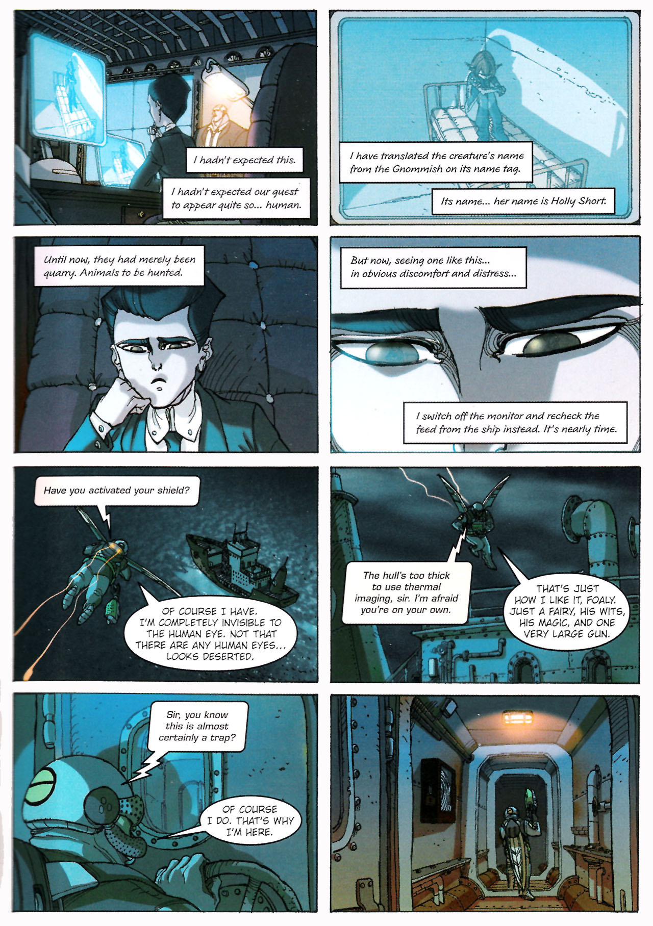 Read online Artemis Fowl comic -  Issue #Artemis Fowl TPB - 44