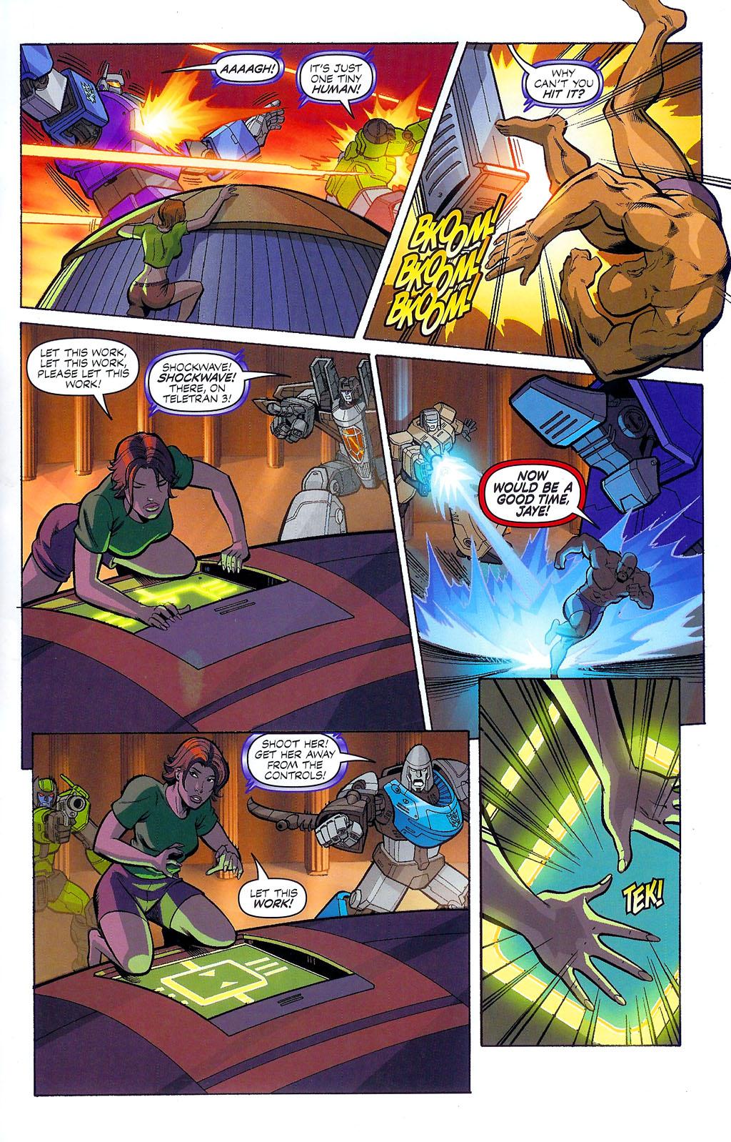 G.I. Joe vs. The Transformers II Issue #4 #5 - English 11
