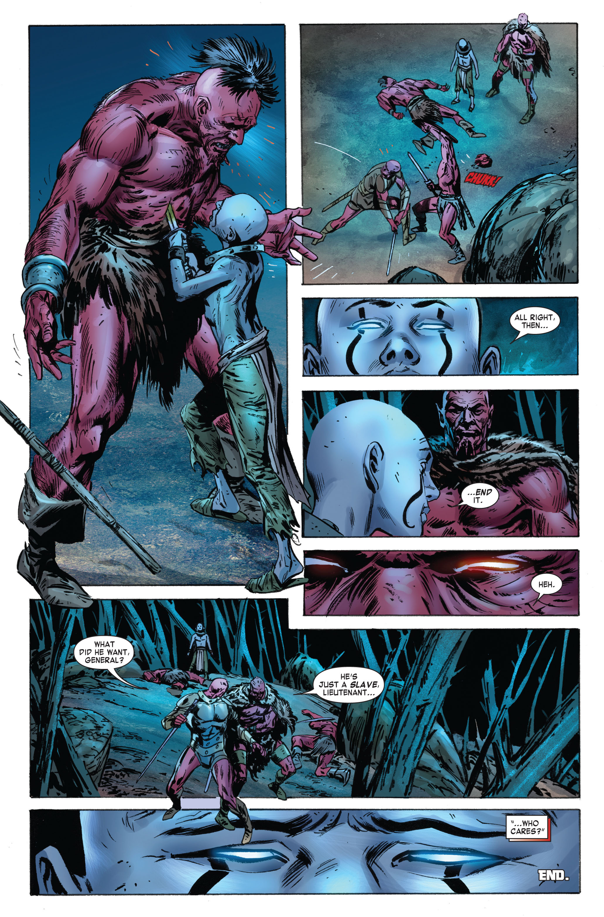 Read online Skaar: Son of Hulk comic -  Issue #3 - 23