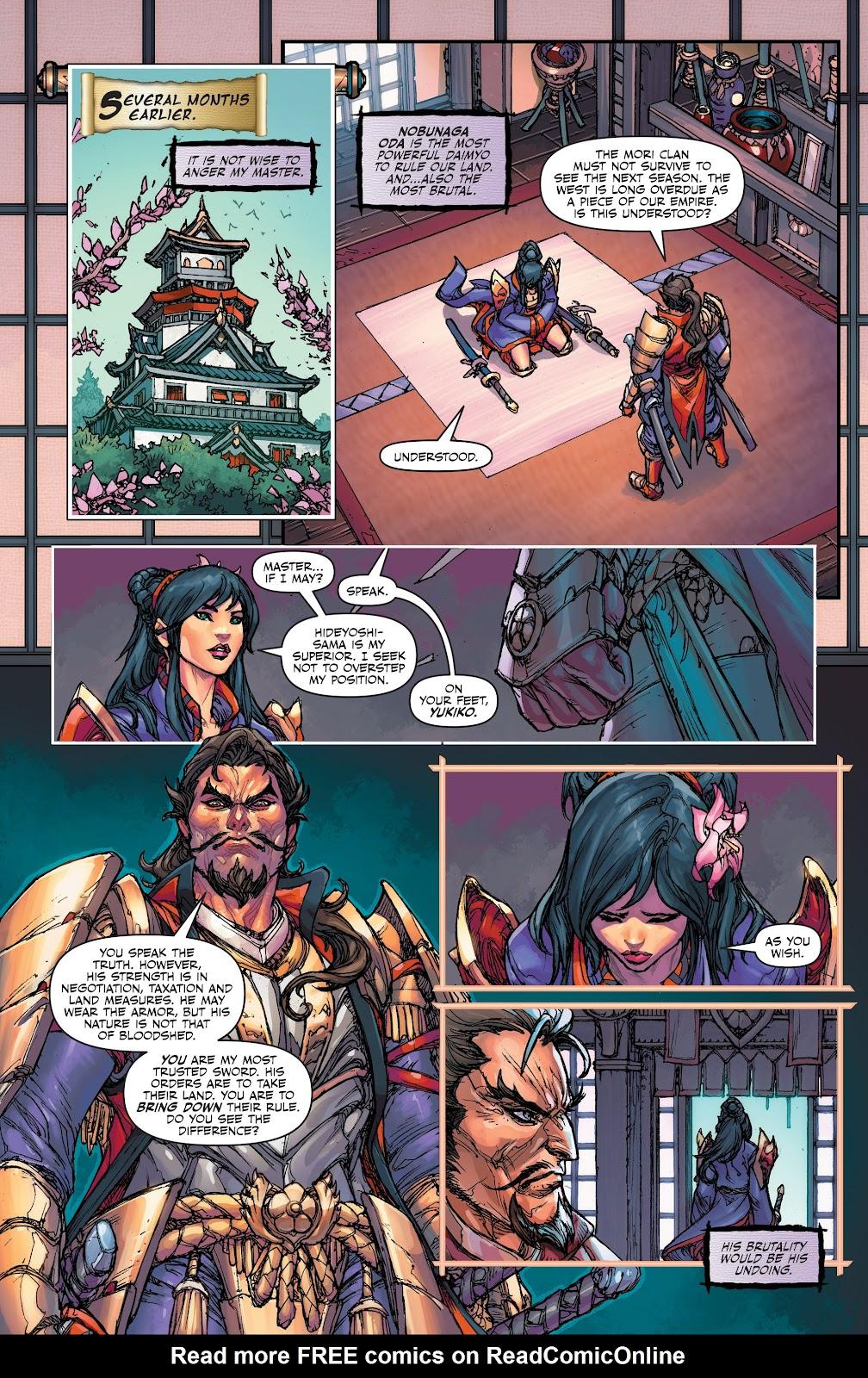 Read online Oniba: Swords of the Demon comic -  Issue # Full - 5