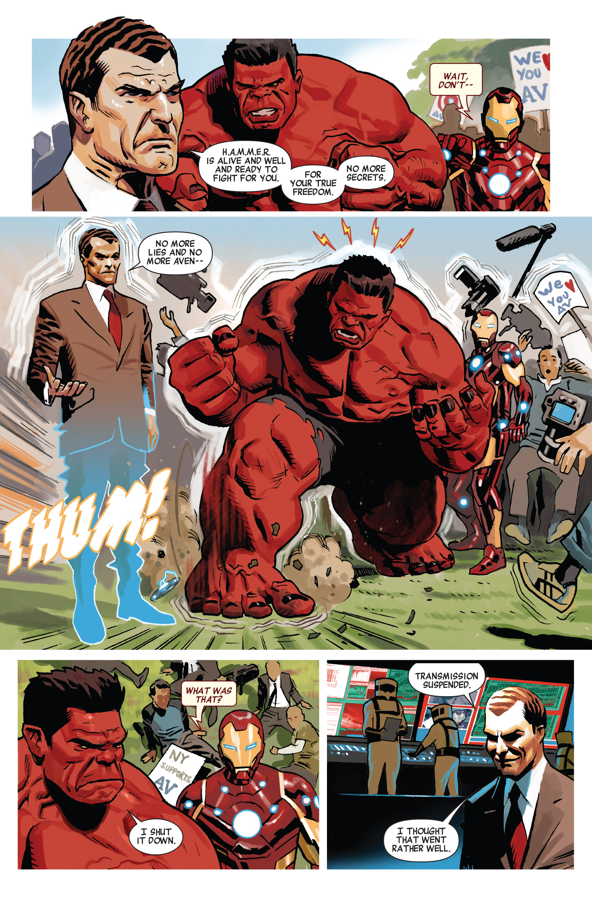 Read online Avengers (2010) comic -  Issue #20 - 6