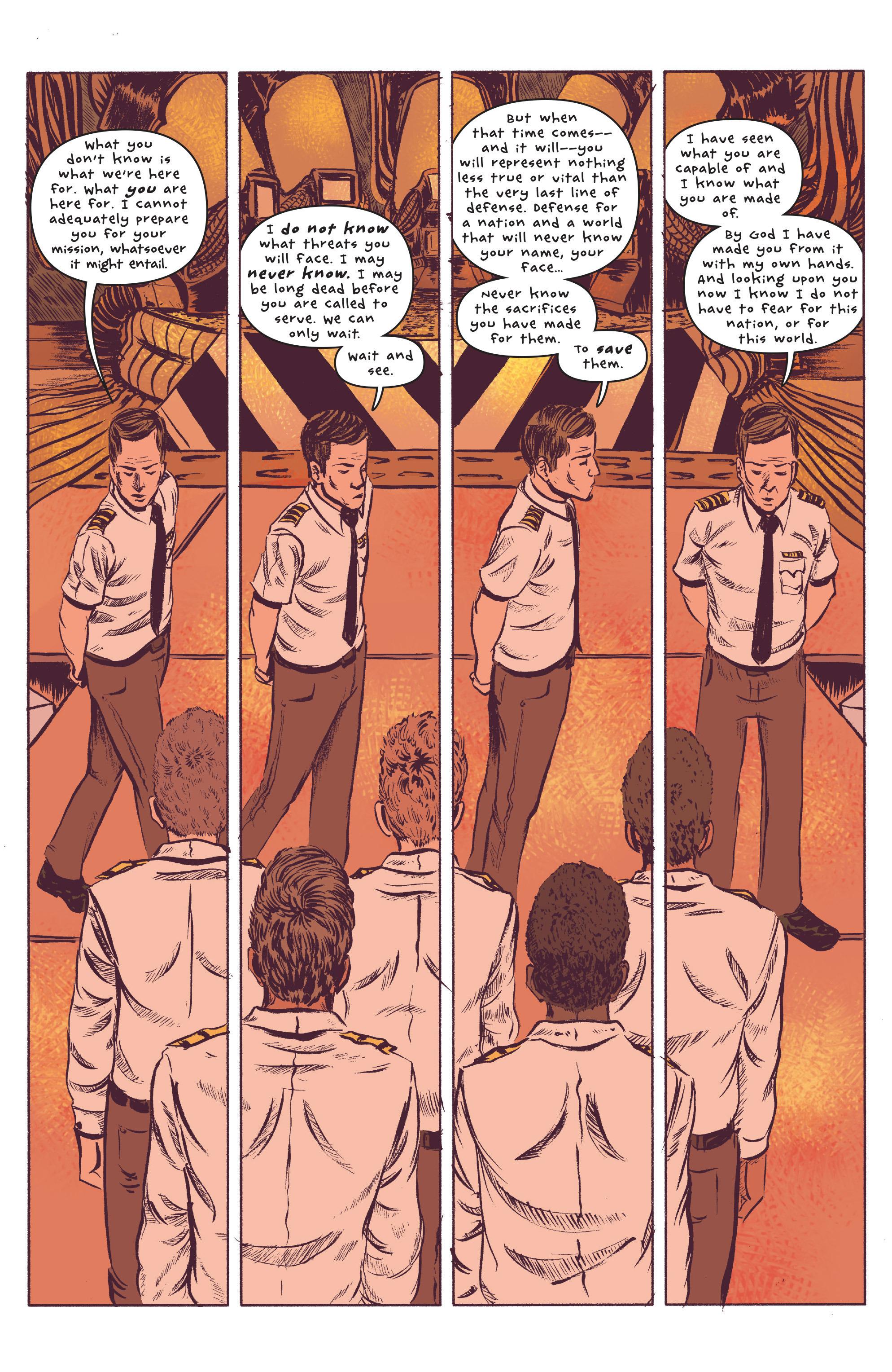 Read online UFOlogy comic -  Issue #2 - 4