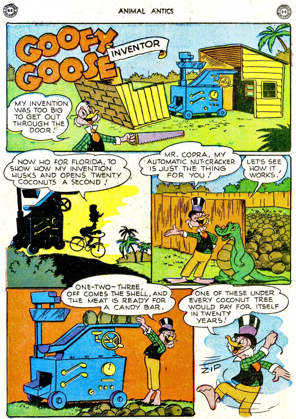 Read online Animal Antics comic -  Issue #12 - 16