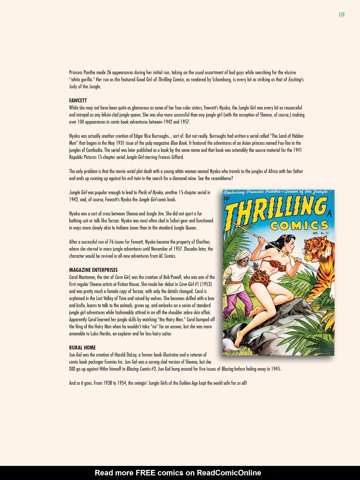Read online Jungle Girls comic -  Issue # TPB (Part 1) - 21