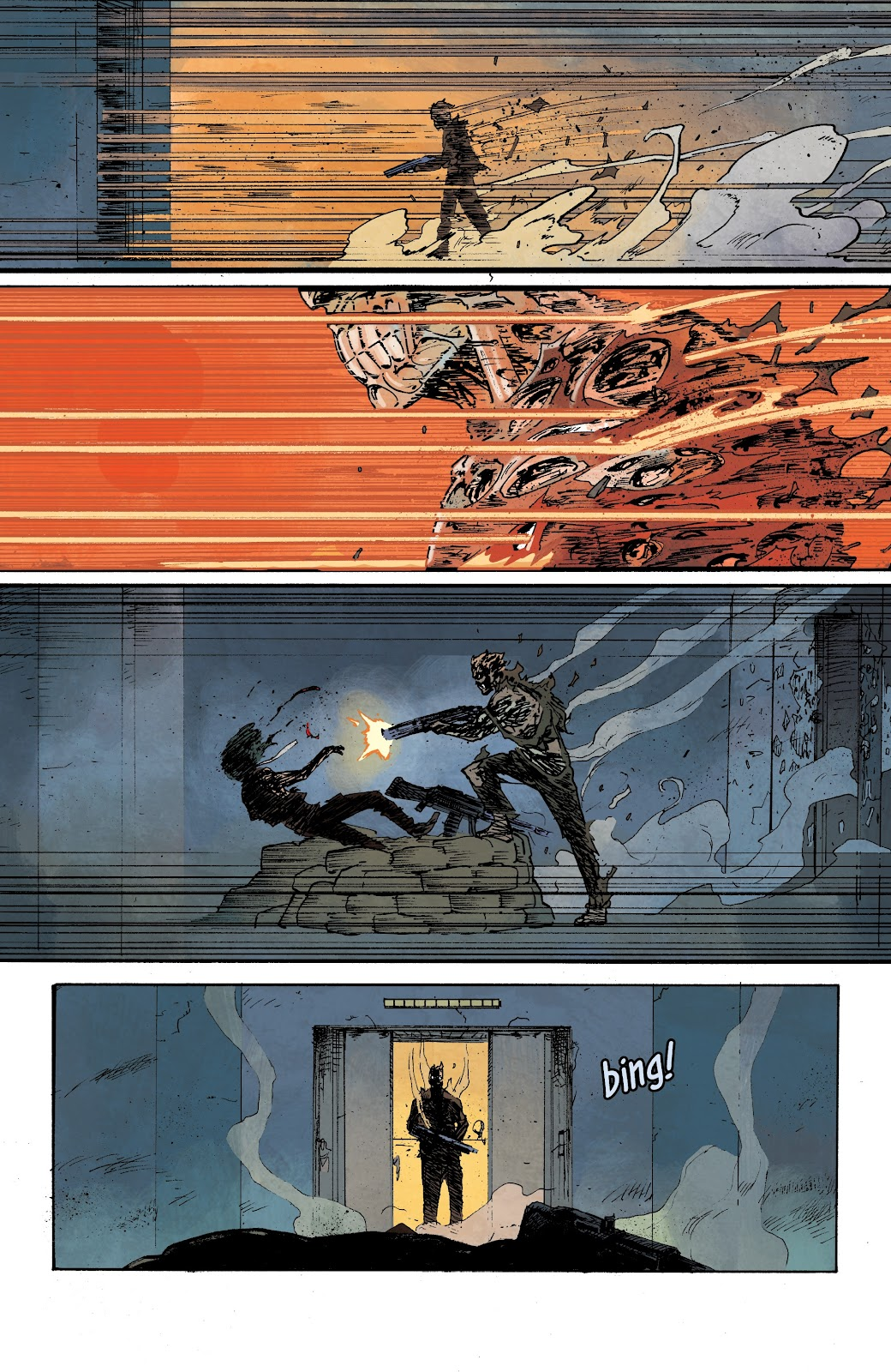 Read online The Terminator: Sector War comic -  Issue #3 - 11