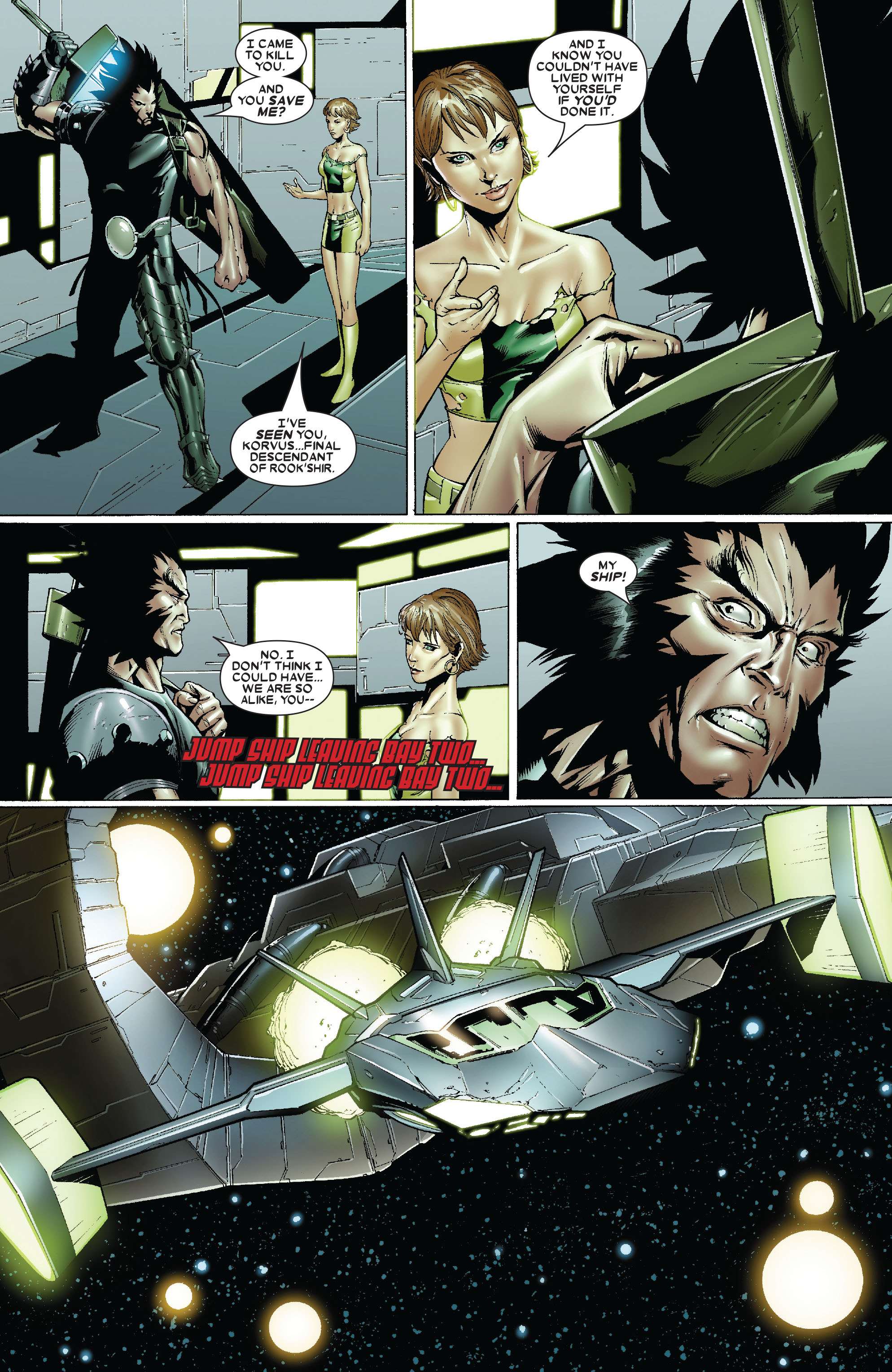 Read online Uncanny X-Men (1963) comic -  Issue #479 - 21