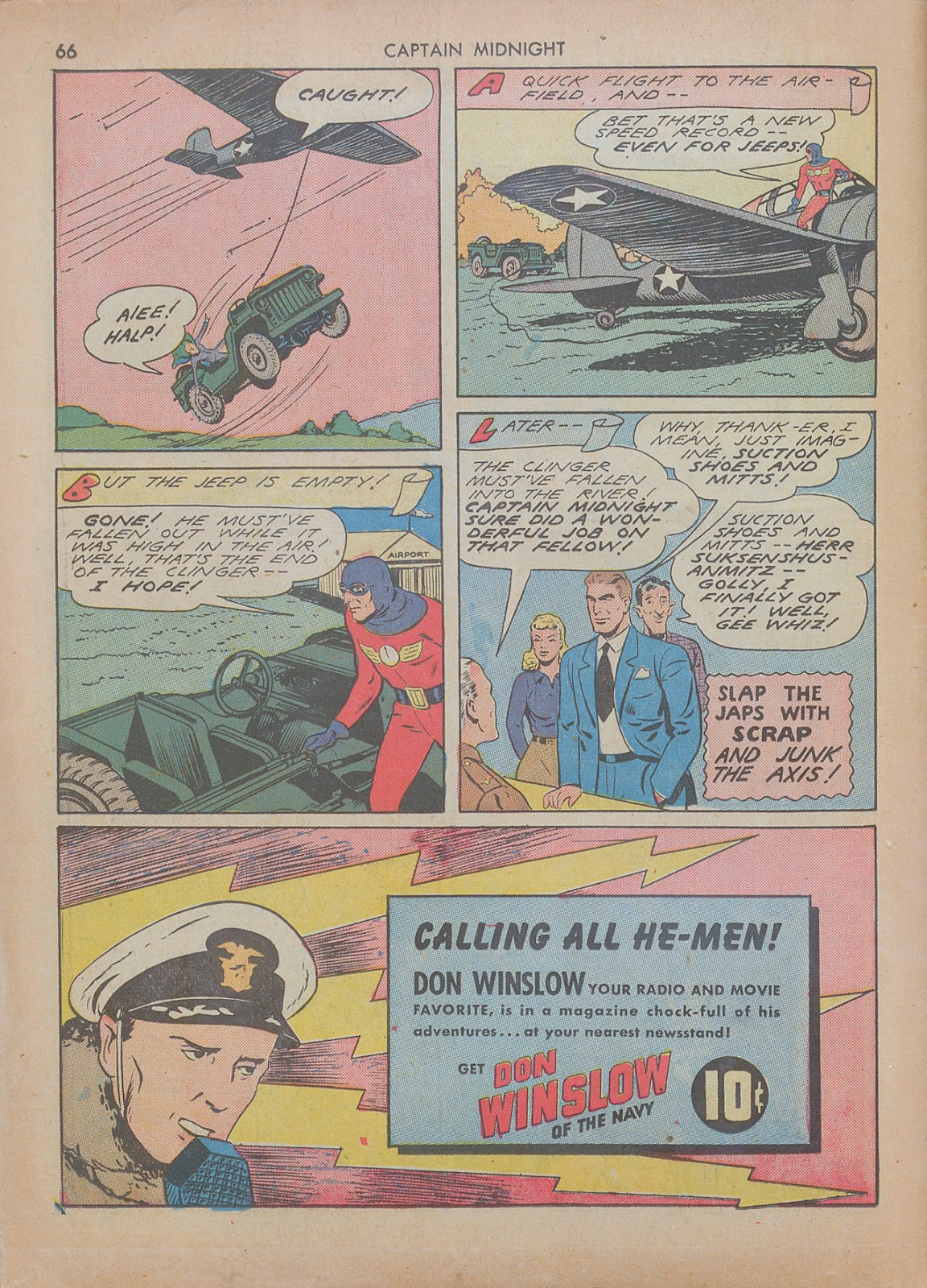 Captain Midnight (1942) issue 7 - Page 66
