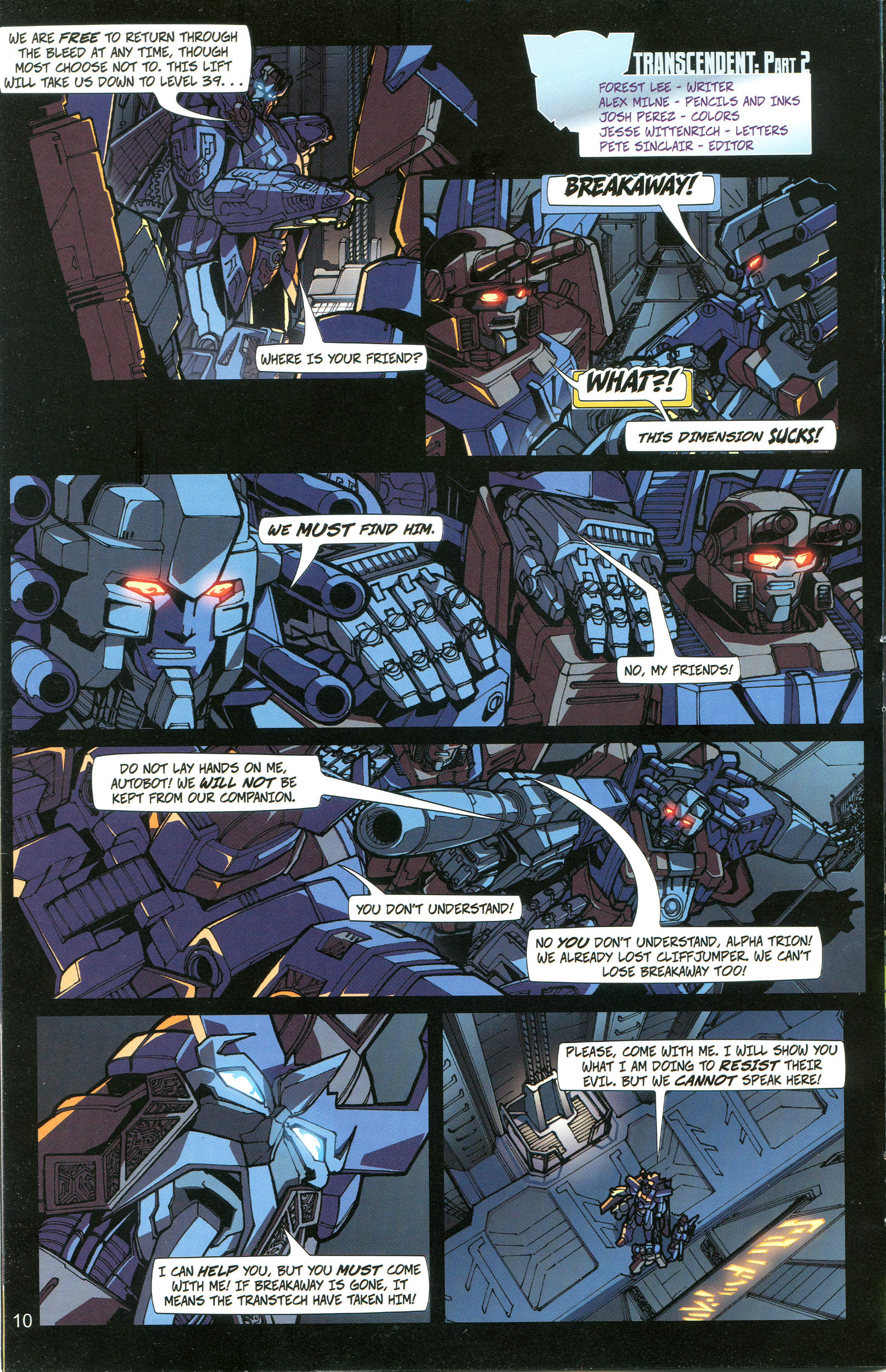 Read online Transformers: Collectors' Club comic -  Issue #20 - 10