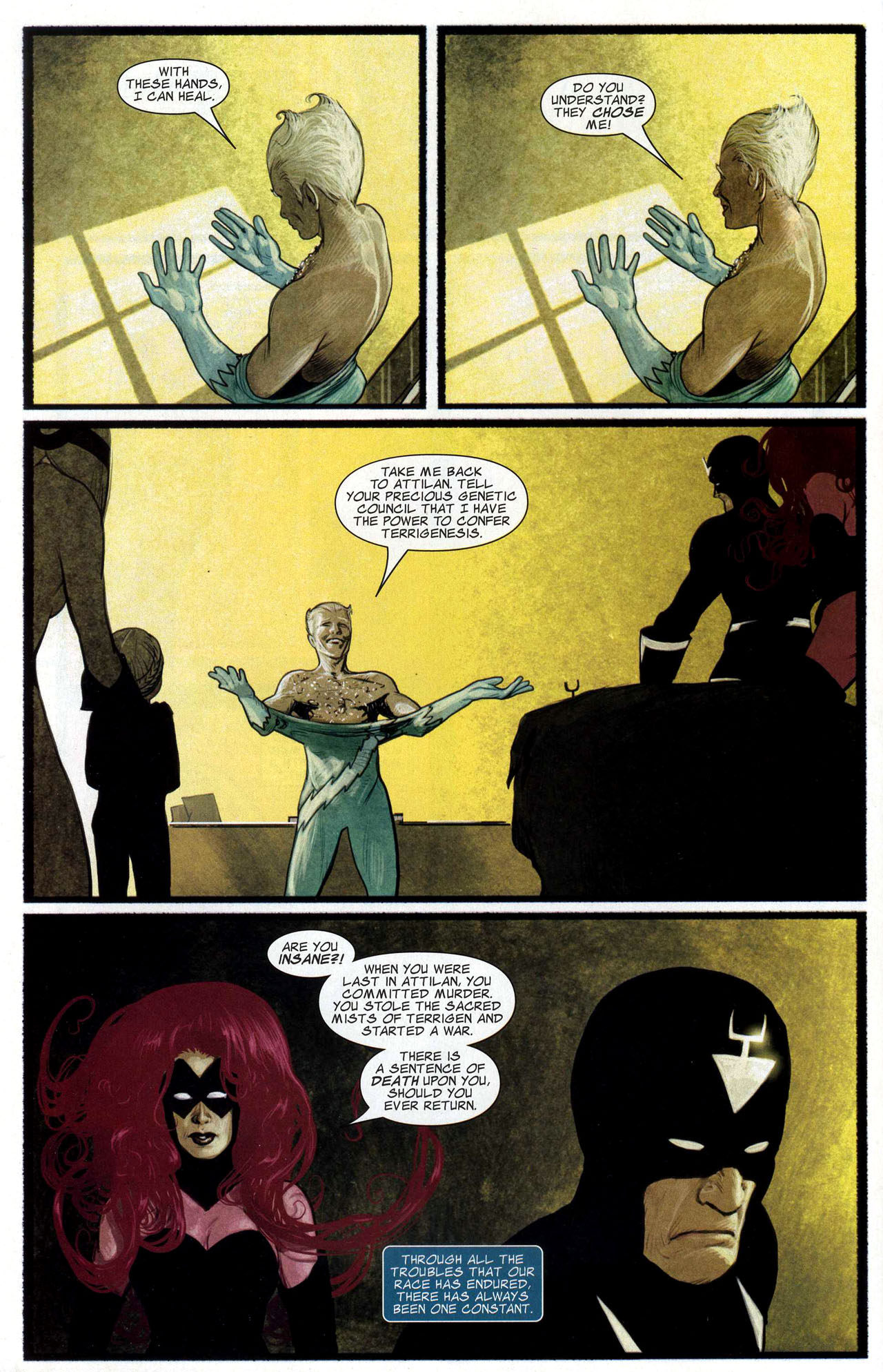 Read online Silent War comic -  Issue #3 - 5
