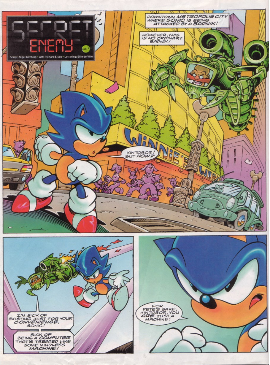 Read online Sonic the Comic comic -  Issue #144 - 2