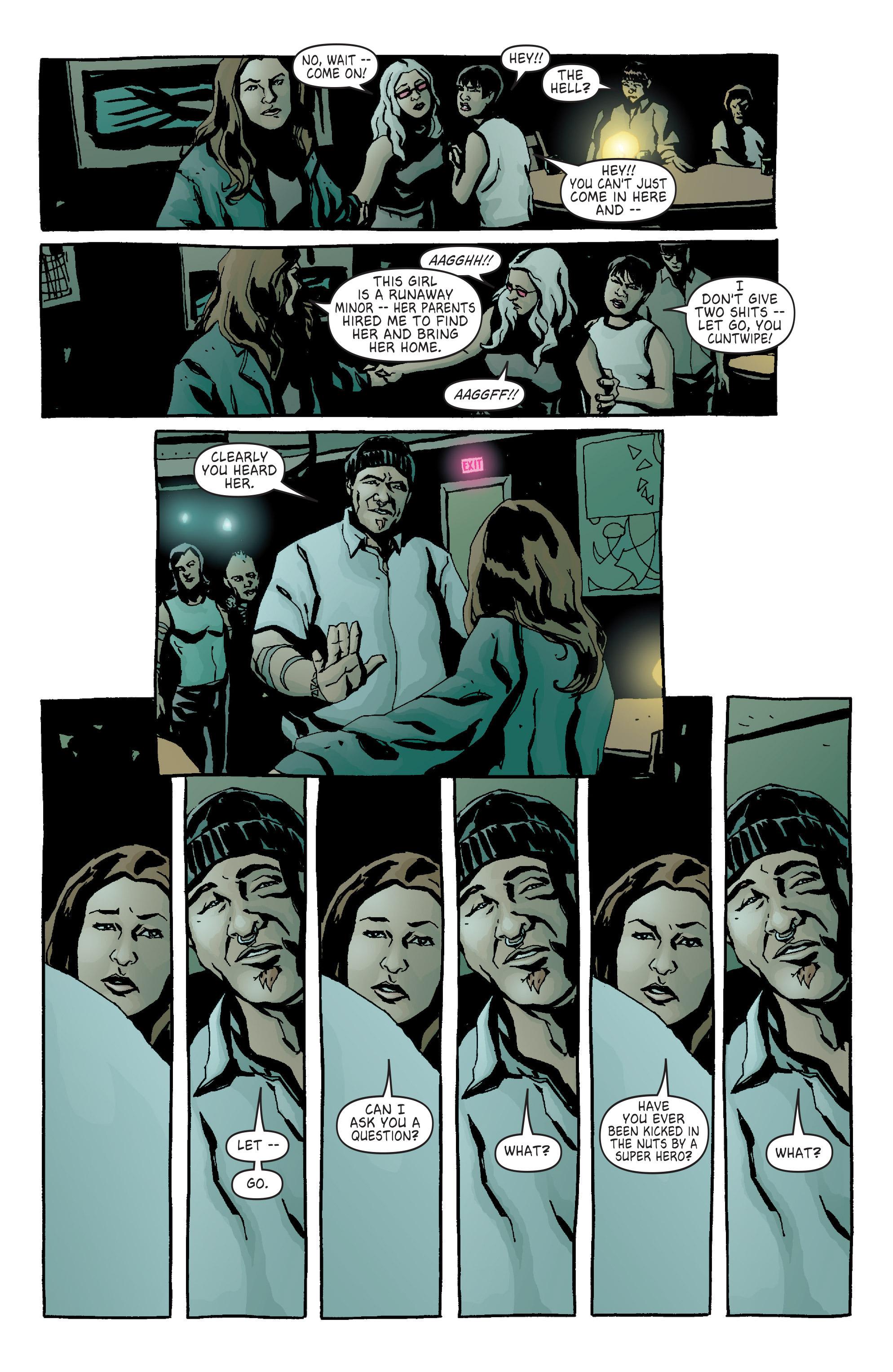 Read online Alias comic -  Issue #14 - 6
