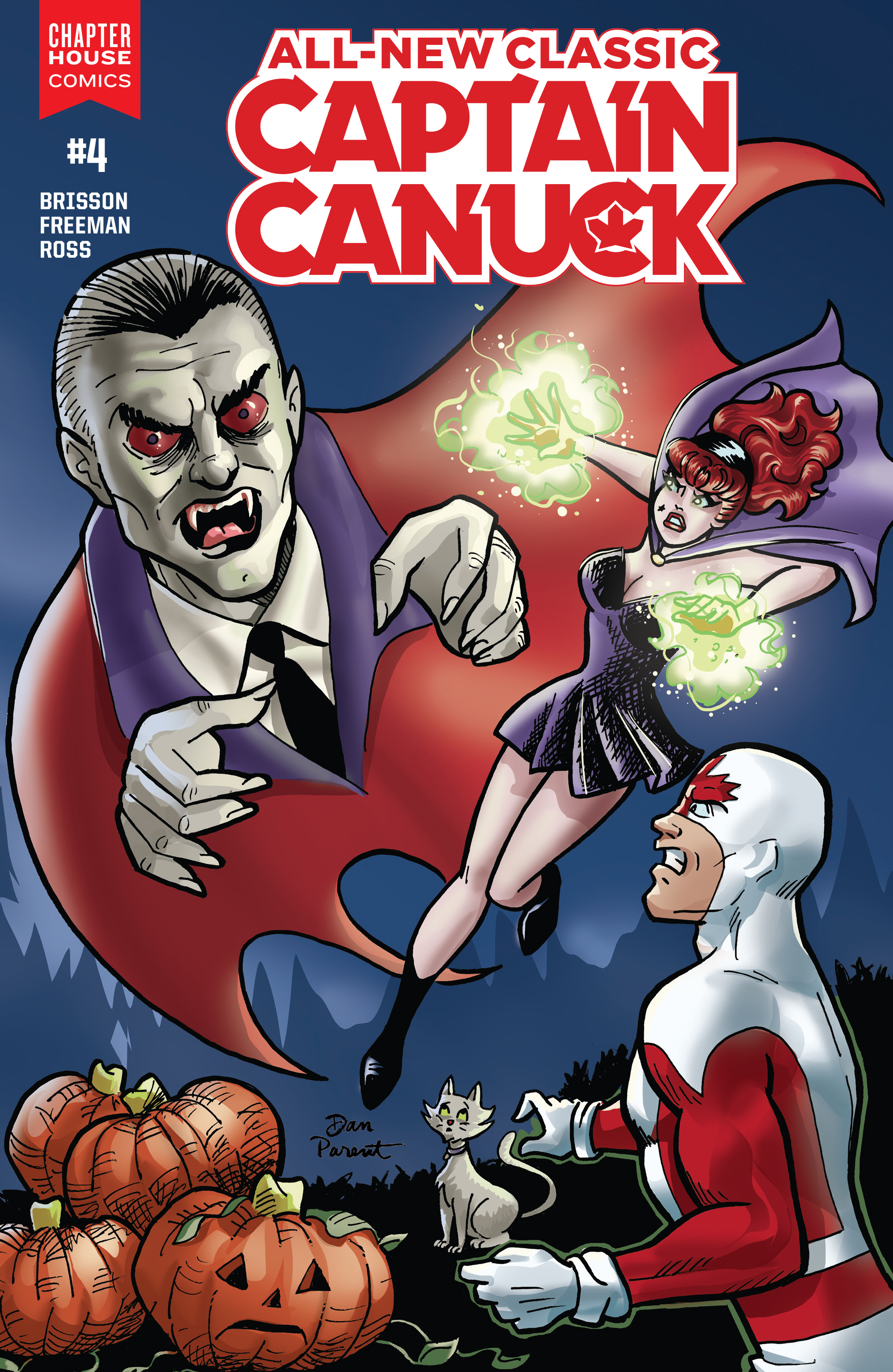 Read online All-New Classic Captain Canuck comic -  Issue #4 - 2