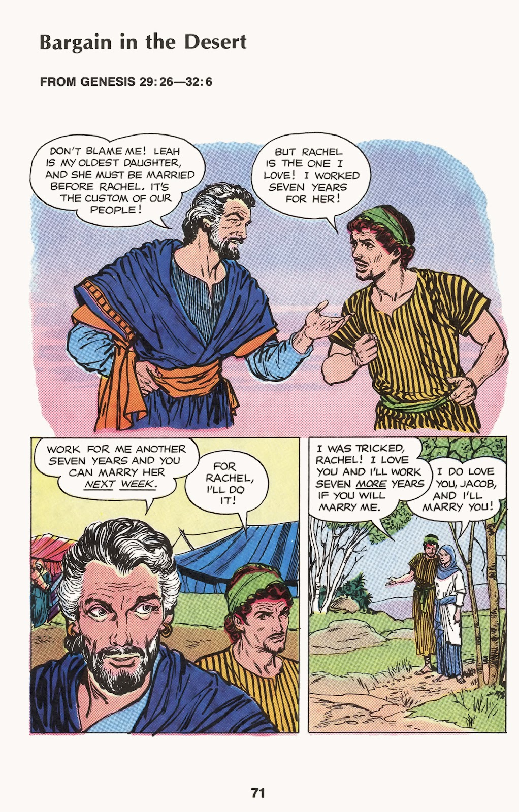 The Picture Bible issue TPB (Part 1) - Page 73