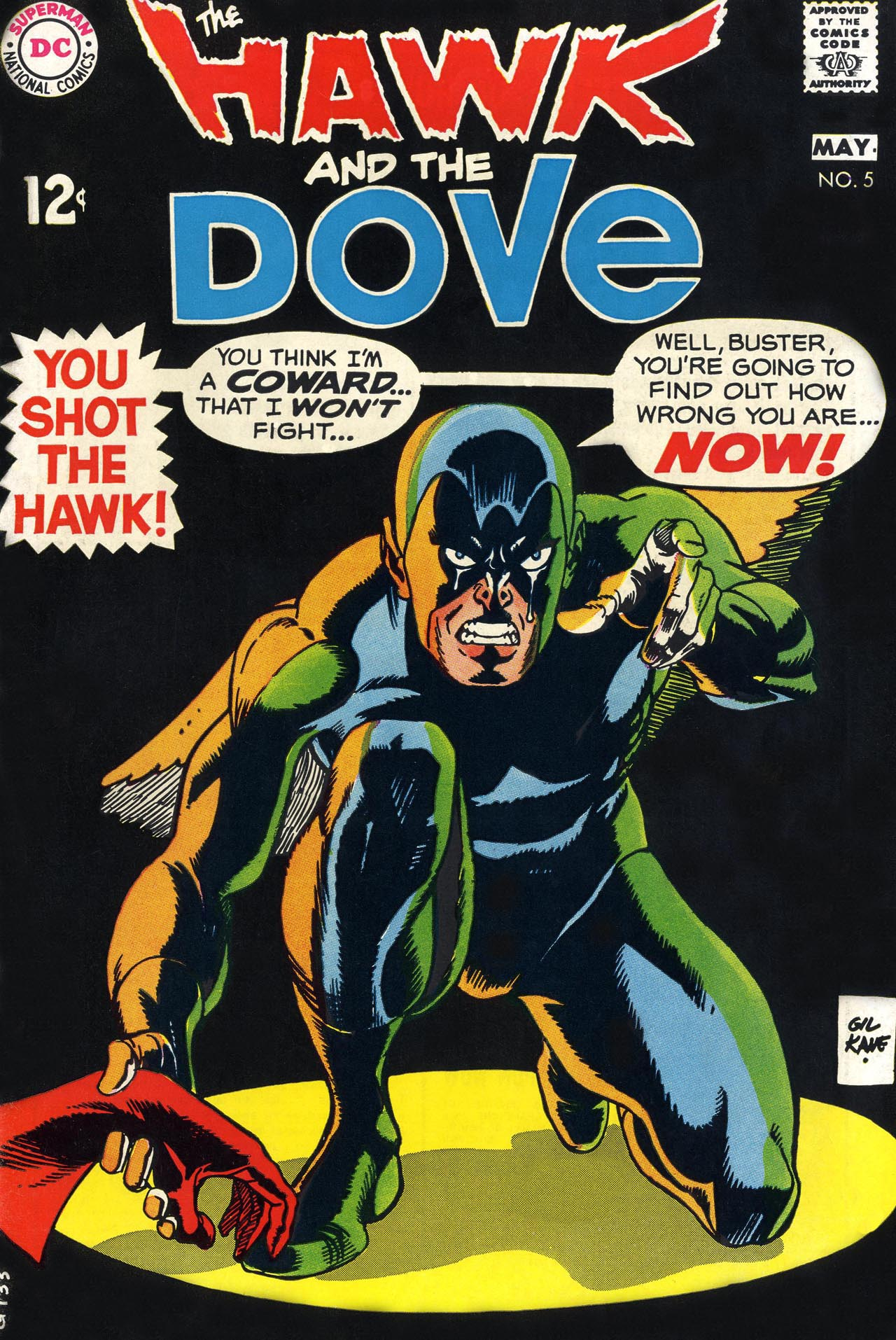 The Hawk and the Dove 5 Page 1