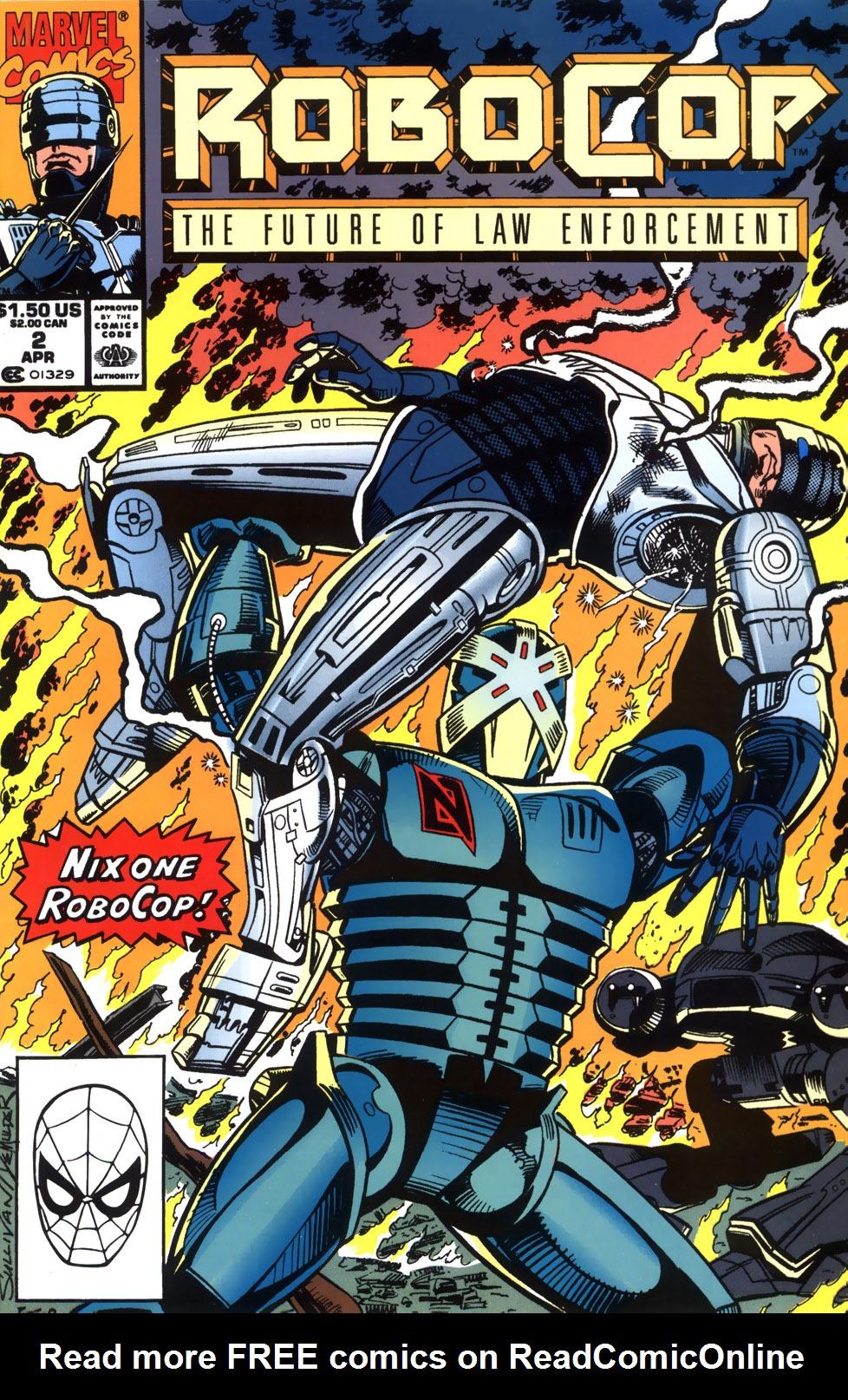 Read online Robocop (1990) comic -  Issue #2 - 1