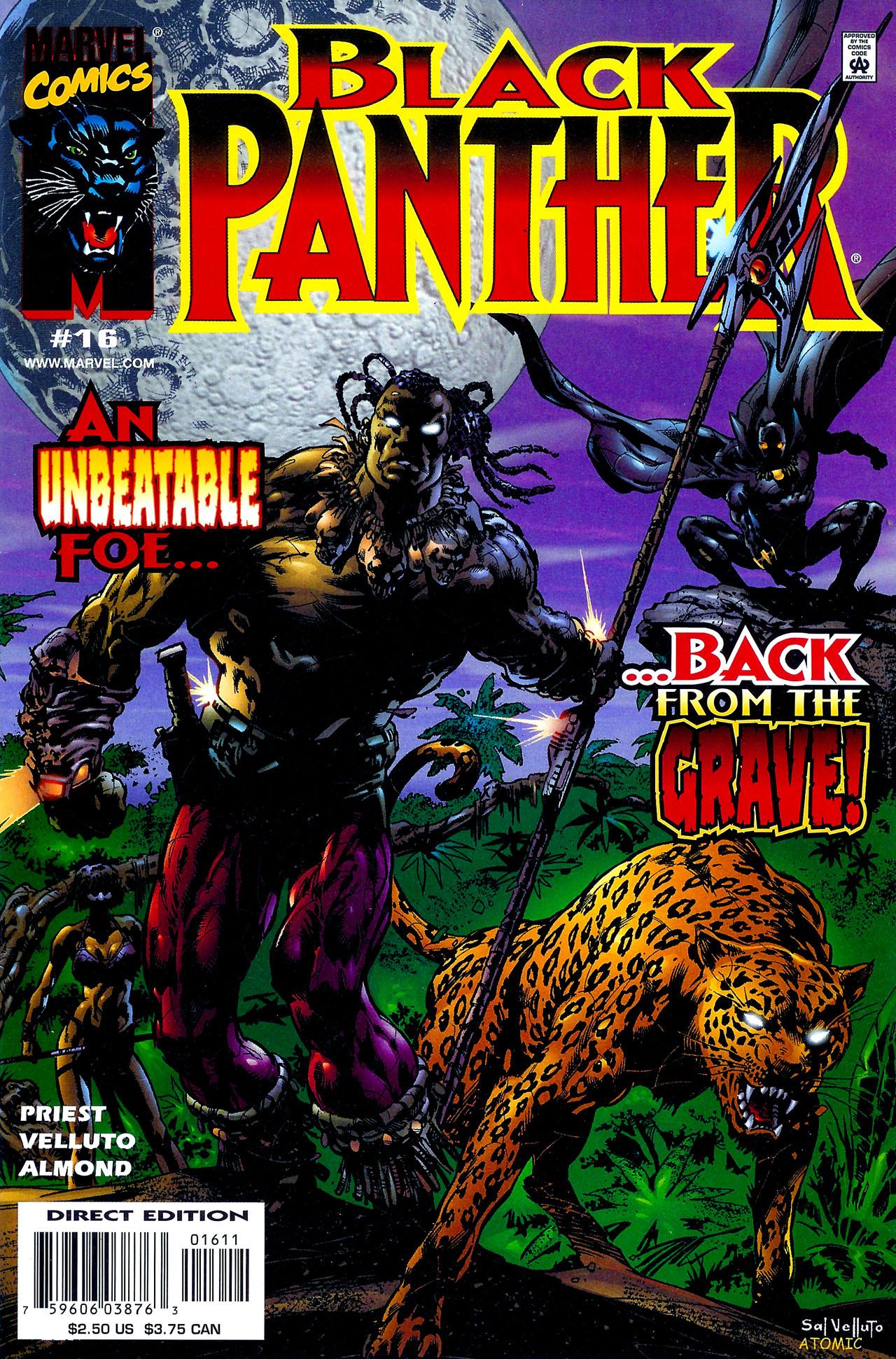 Black Panther (1998) 16 Page 1