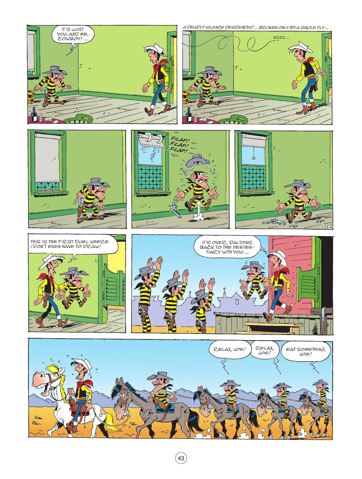A Lucky Luke Adventure issue 72 - Page 45