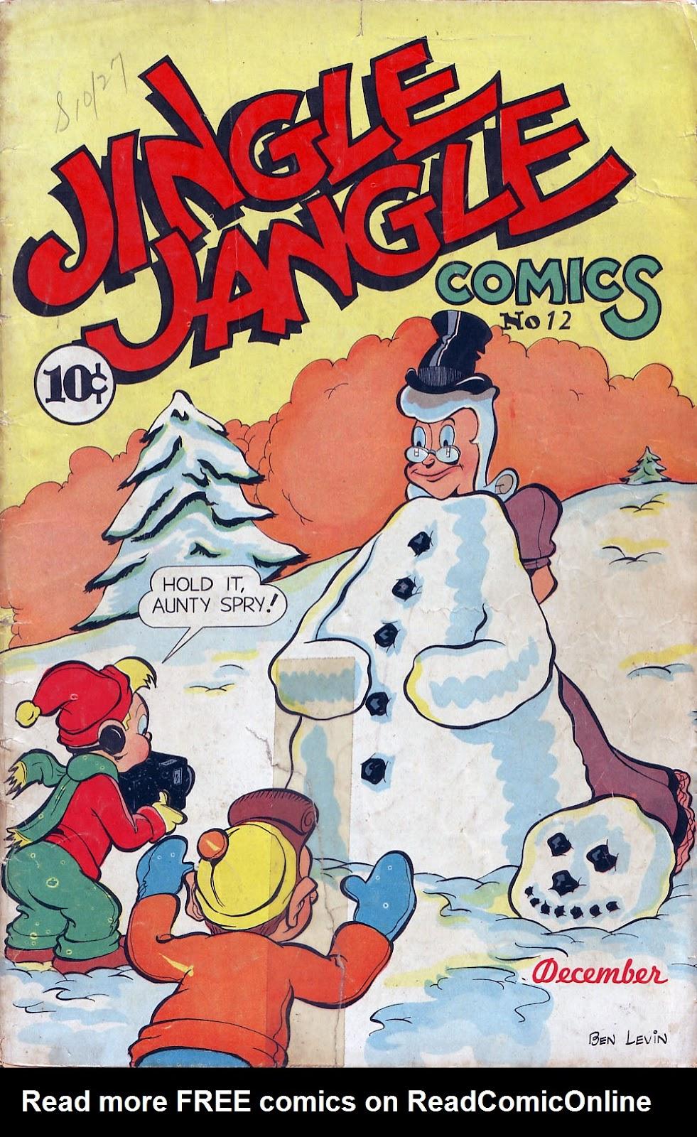 Jingle Jangle Comics issue 12 - Page 1