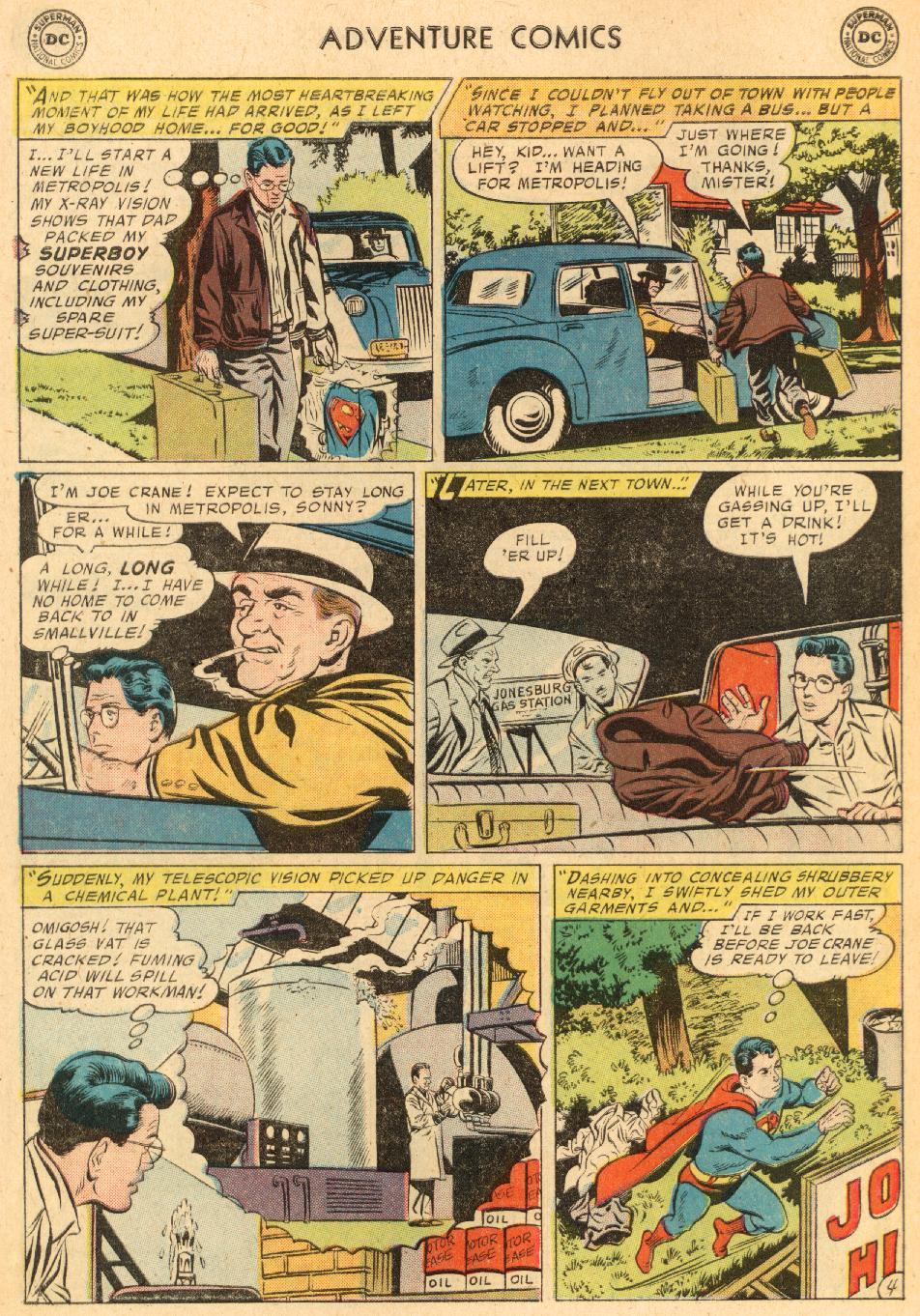 Read online Adventure Comics (1938) comic -  Issue #249 - 6