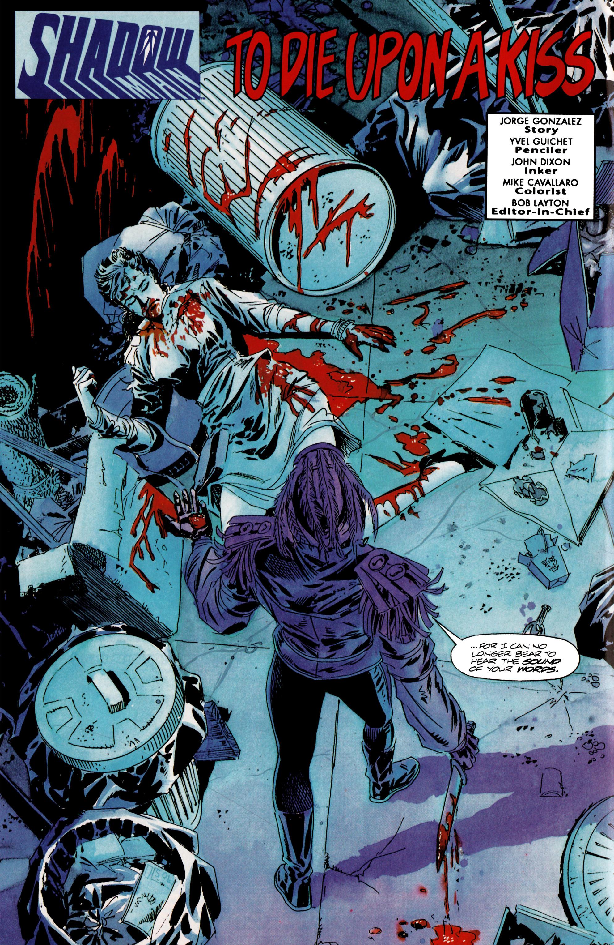 Read online Shadowman (1992) comic -  Issue #13 - 3