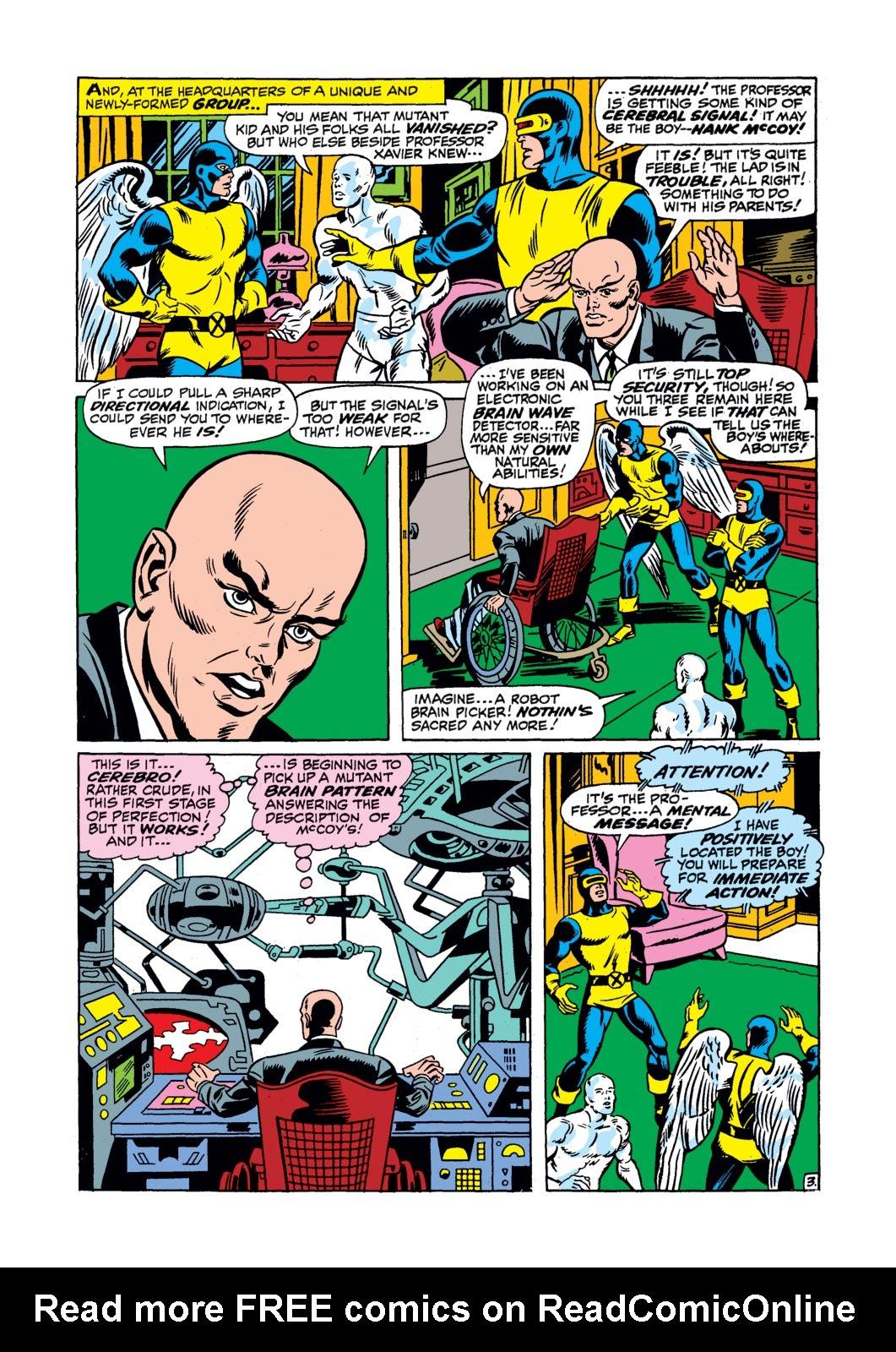 Read online Amazing Adventures (1970) comic -  Issue #17 - 21