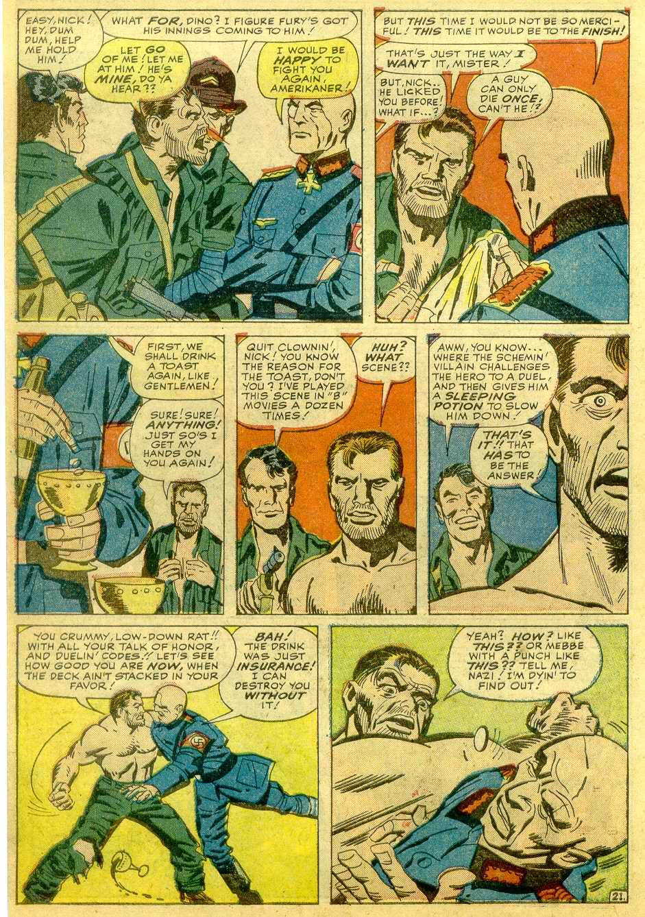 Read online Sgt. Fury comic -  Issue # _Annual 1 - 68