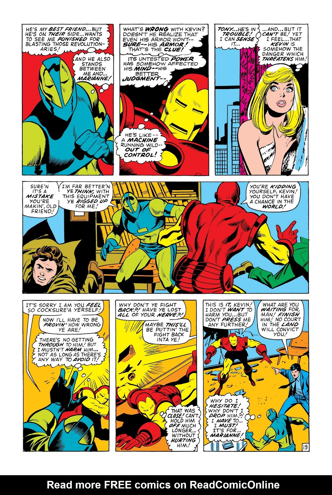 Read online Marvel Masterworks: The Invincible Iron Man comic -  Issue # TPB 8 (Part 2) - 41