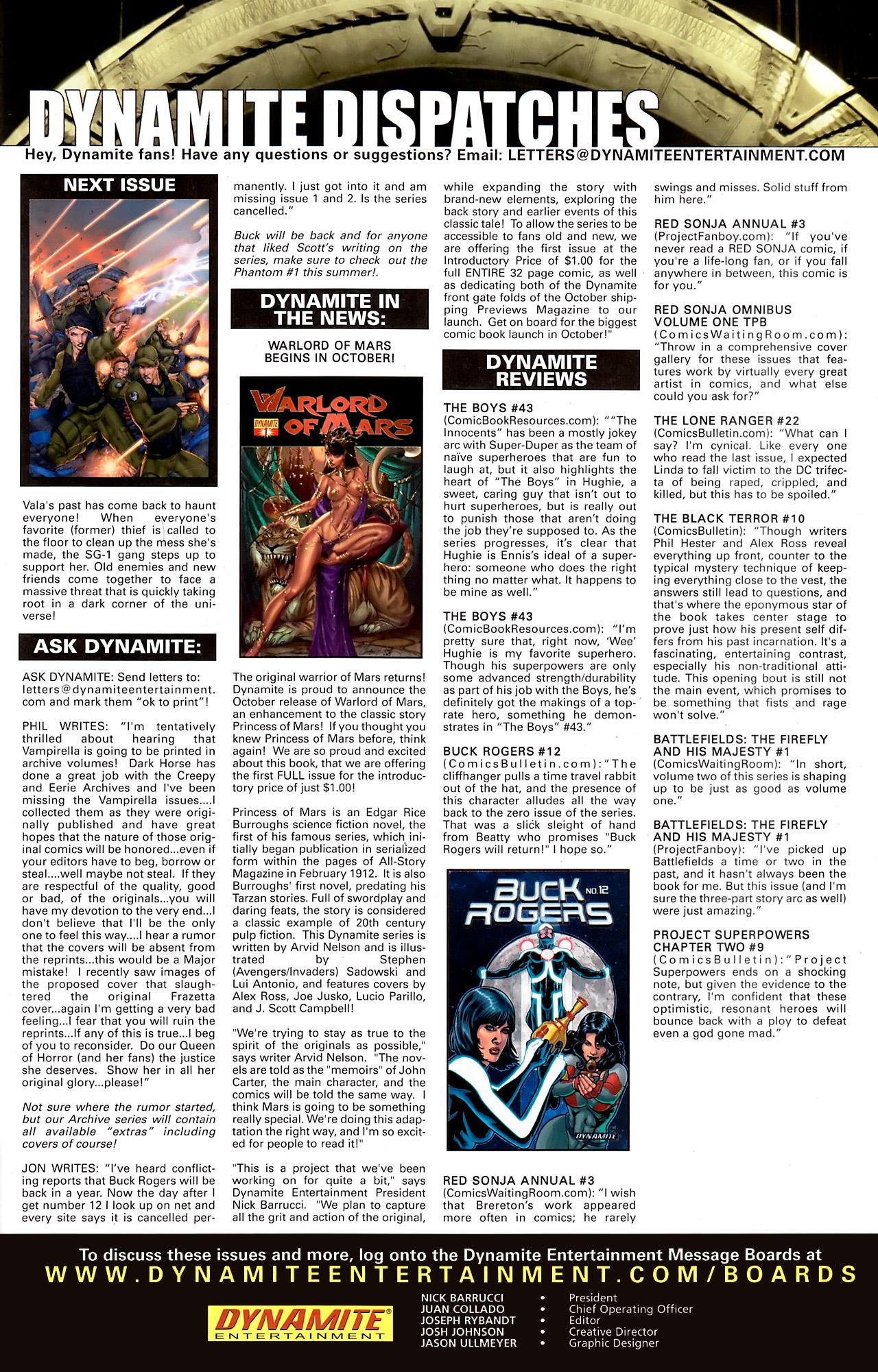 Read online Stargate Vala Mal Doran comic -  Issue #3 - 25
