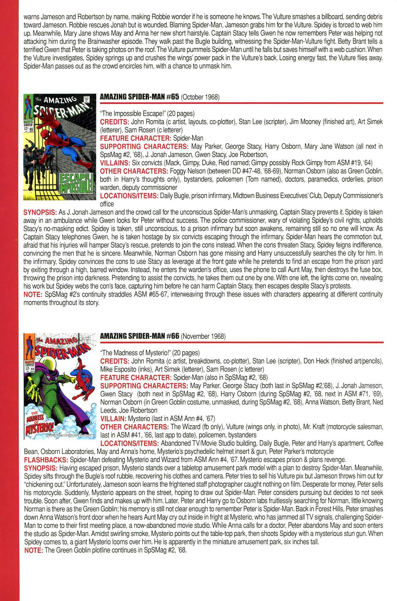 Read online Official Index to the Marvel Universe comic -  Issue #2 - 8
