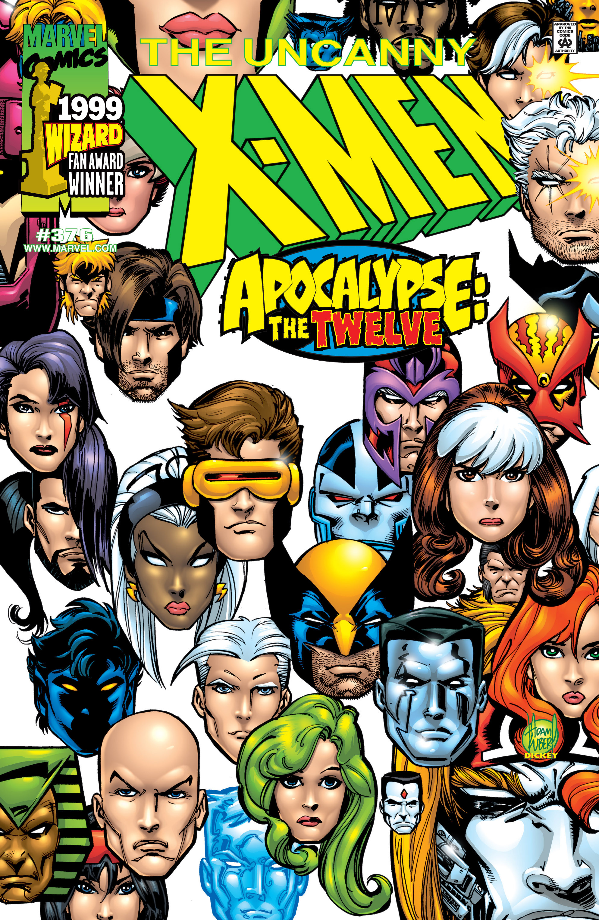Uncanny X-Men (1963) 376 Page 1