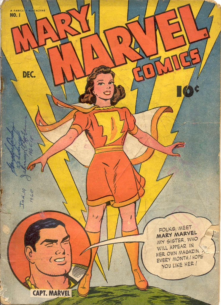 Mary Marvel issue 1 - Page 1