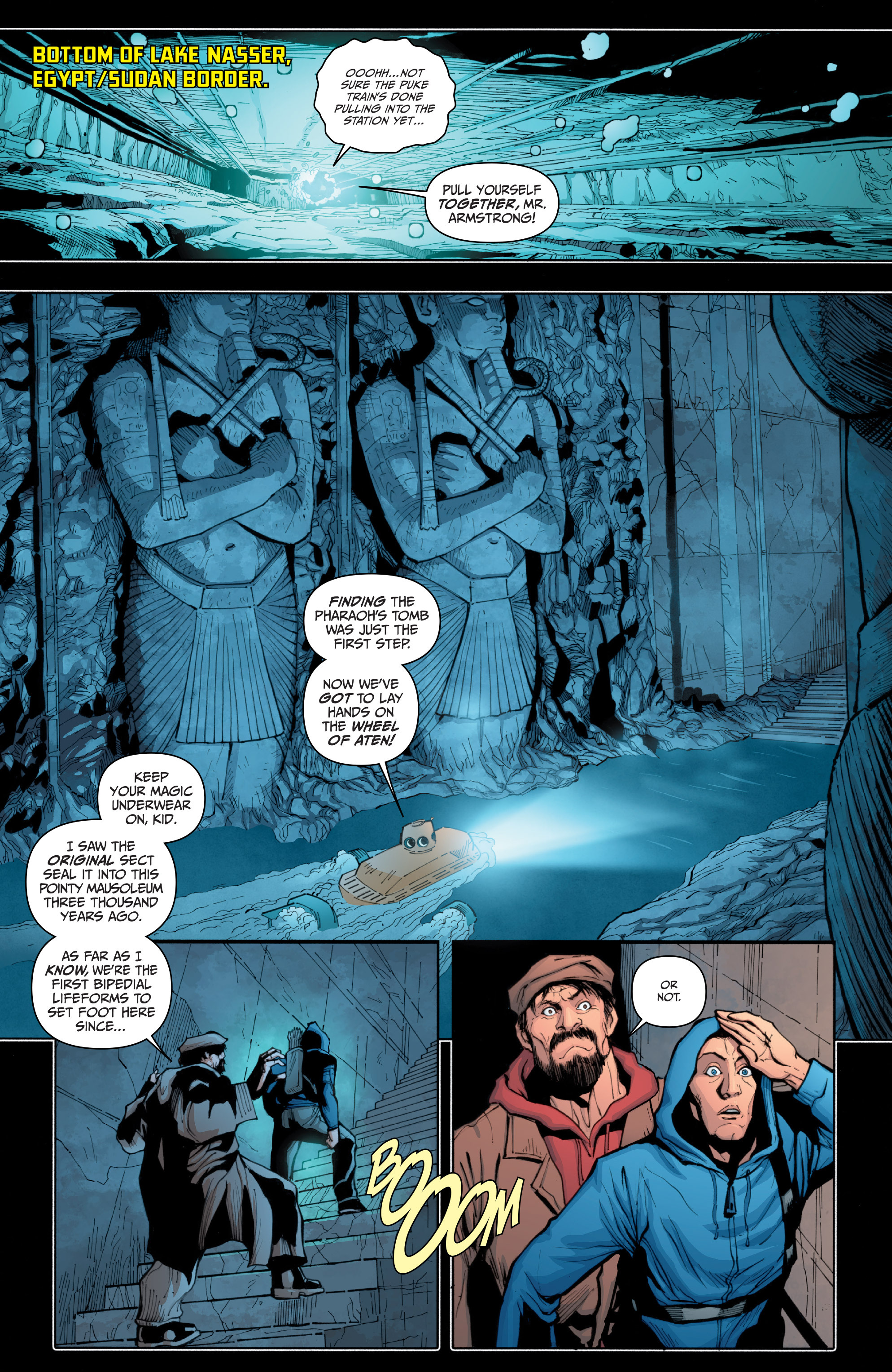 Read online Archer and Armstrong comic -  Issue #Archer and Armstrong _TPB 4 - 77