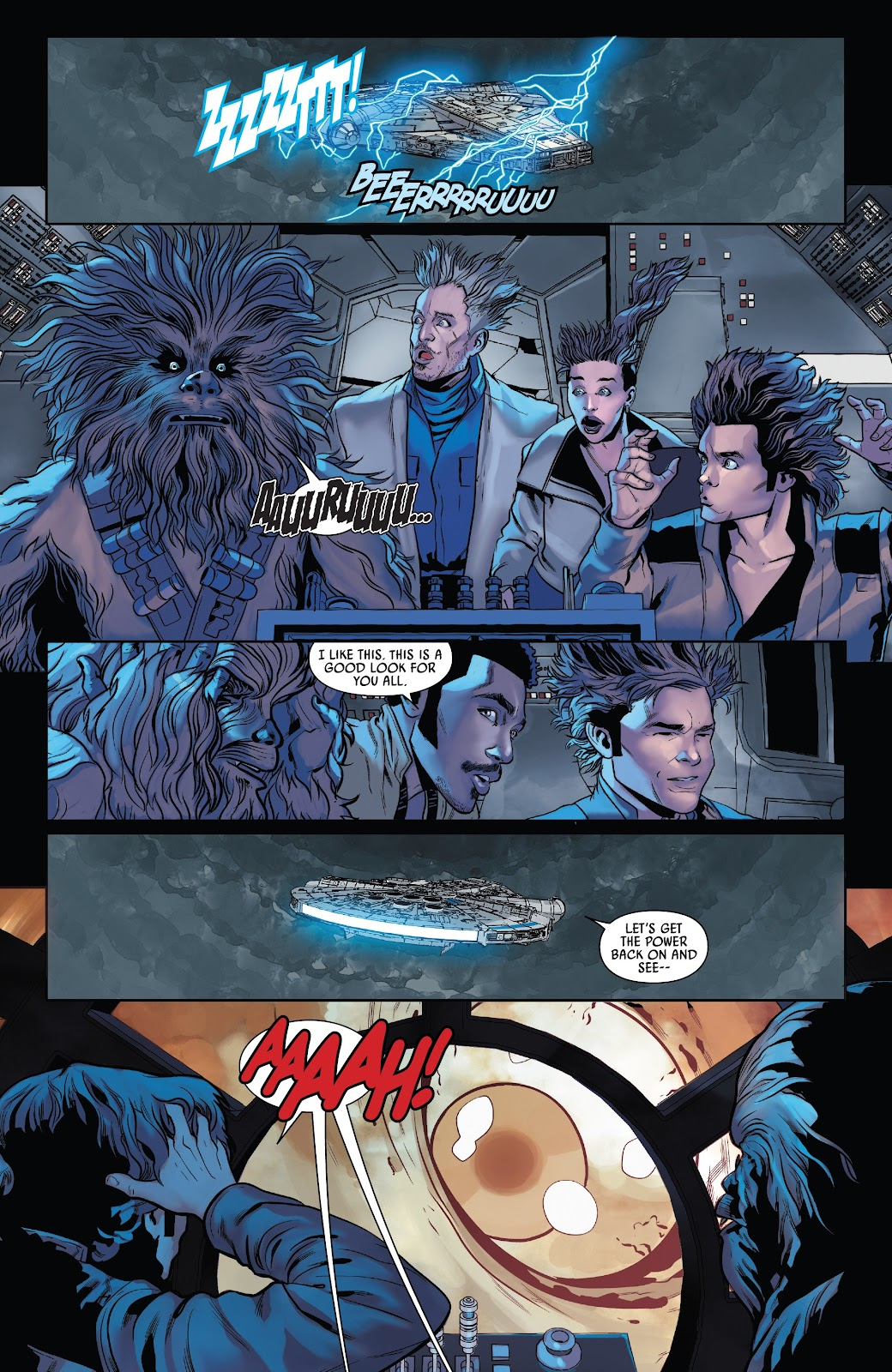 Read online Solo: A Star Wars Story Adaptation comic -  Issue #5 - 10