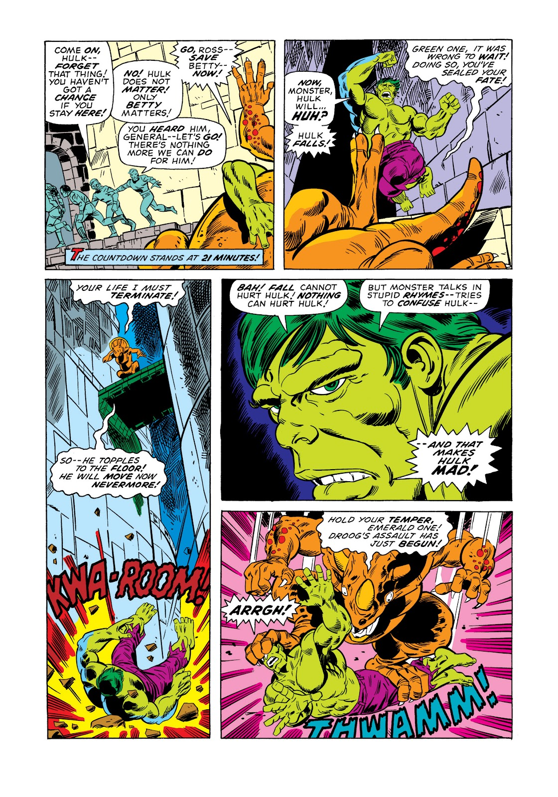 Read online Marvel Masterworks: The Incredible Hulk comic -  Issue # TPB 11 (Part 1) - 95