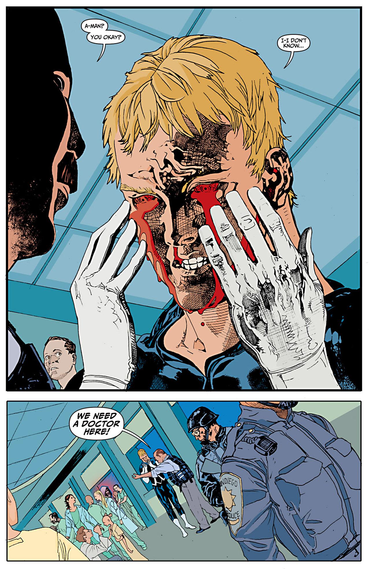 Read online Animal Man (2011) comic -  Issue #1 - 13
