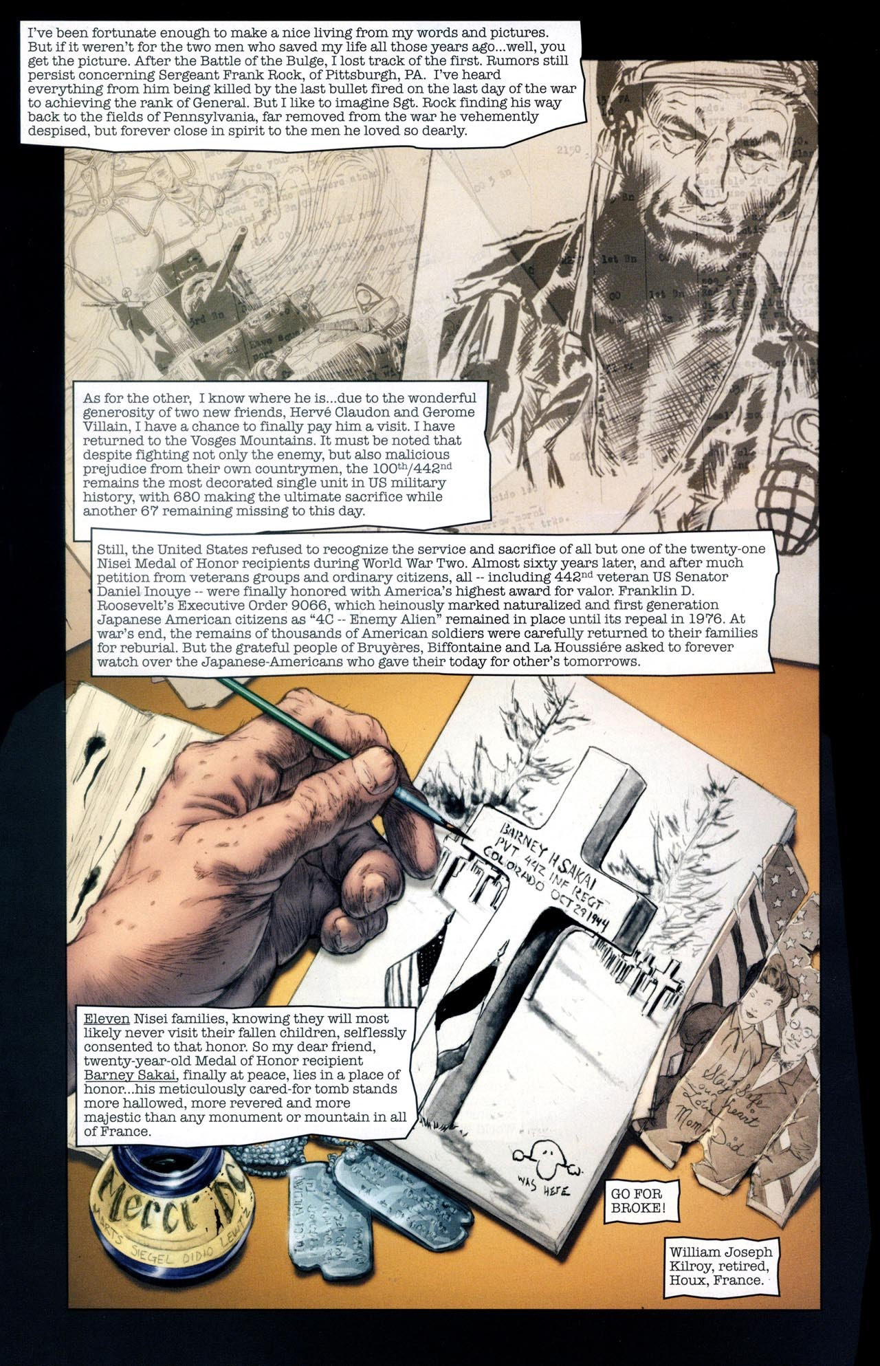 Read online Sgt. Rock: The Lost Battalion comic -  Issue #6 - 17