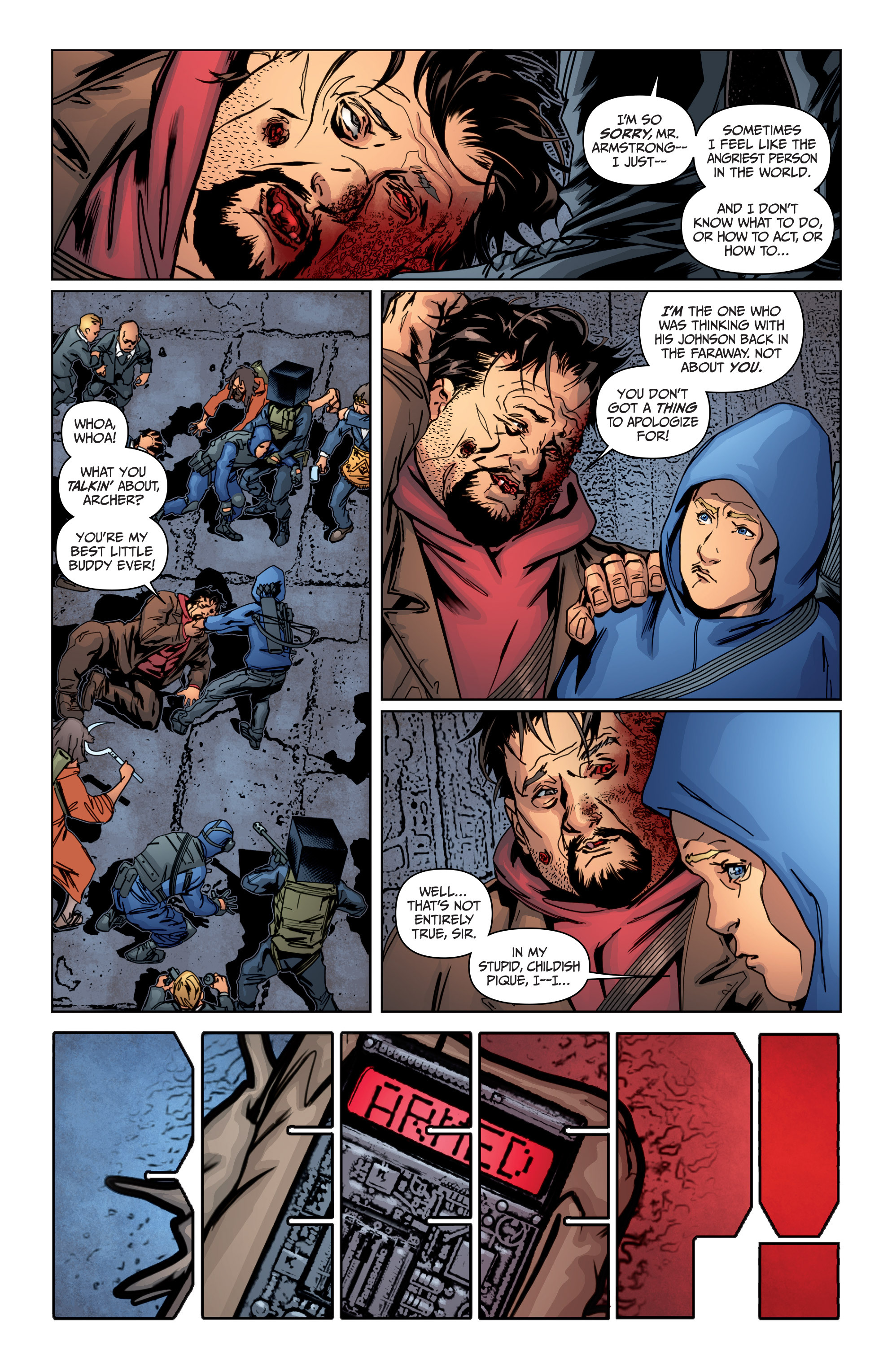 Read online Archer and Armstrong comic -  Issue #Archer and Armstrong _TPB 4 - 89