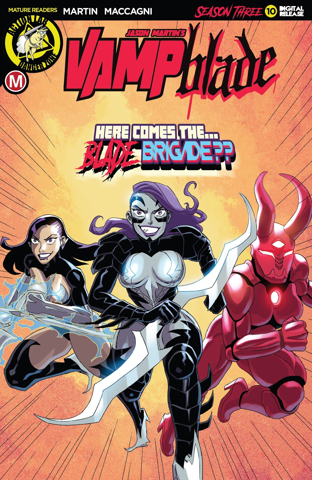 Read online Vampblade Season 3 comic -  Issue #10 - 1