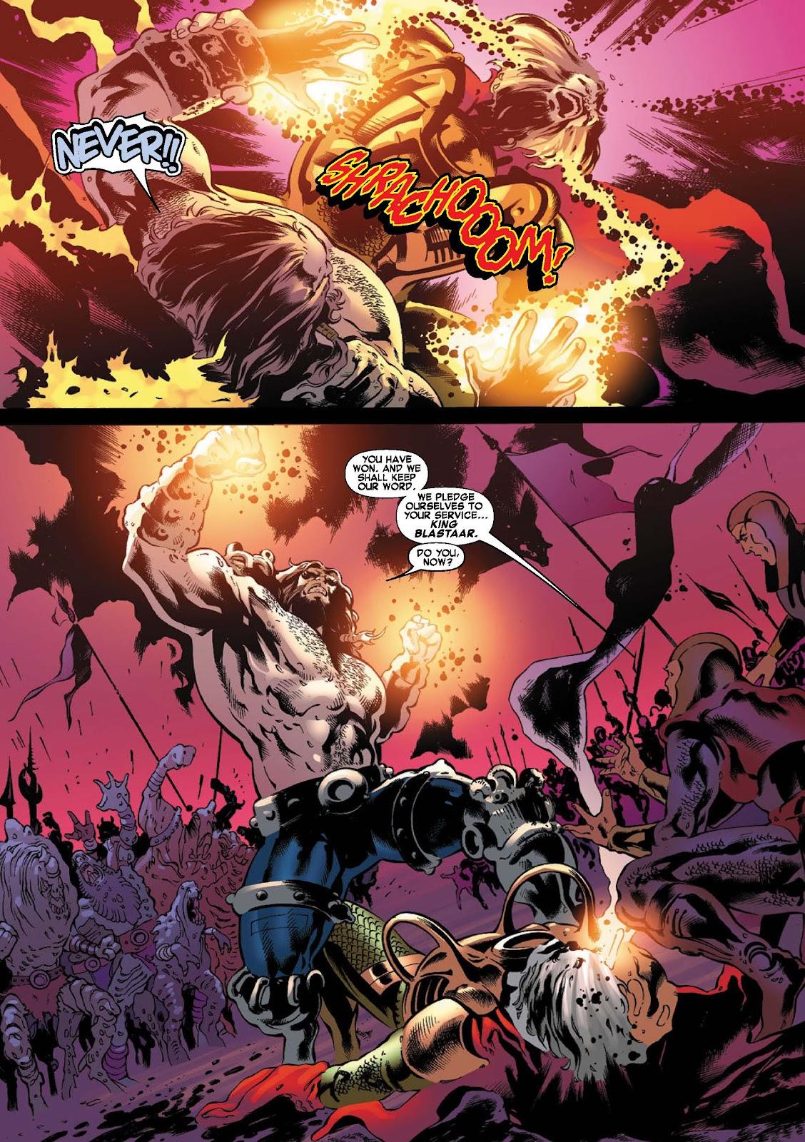 War of Kings: Warriors - Blastaar Issue #2 #2 - English 7