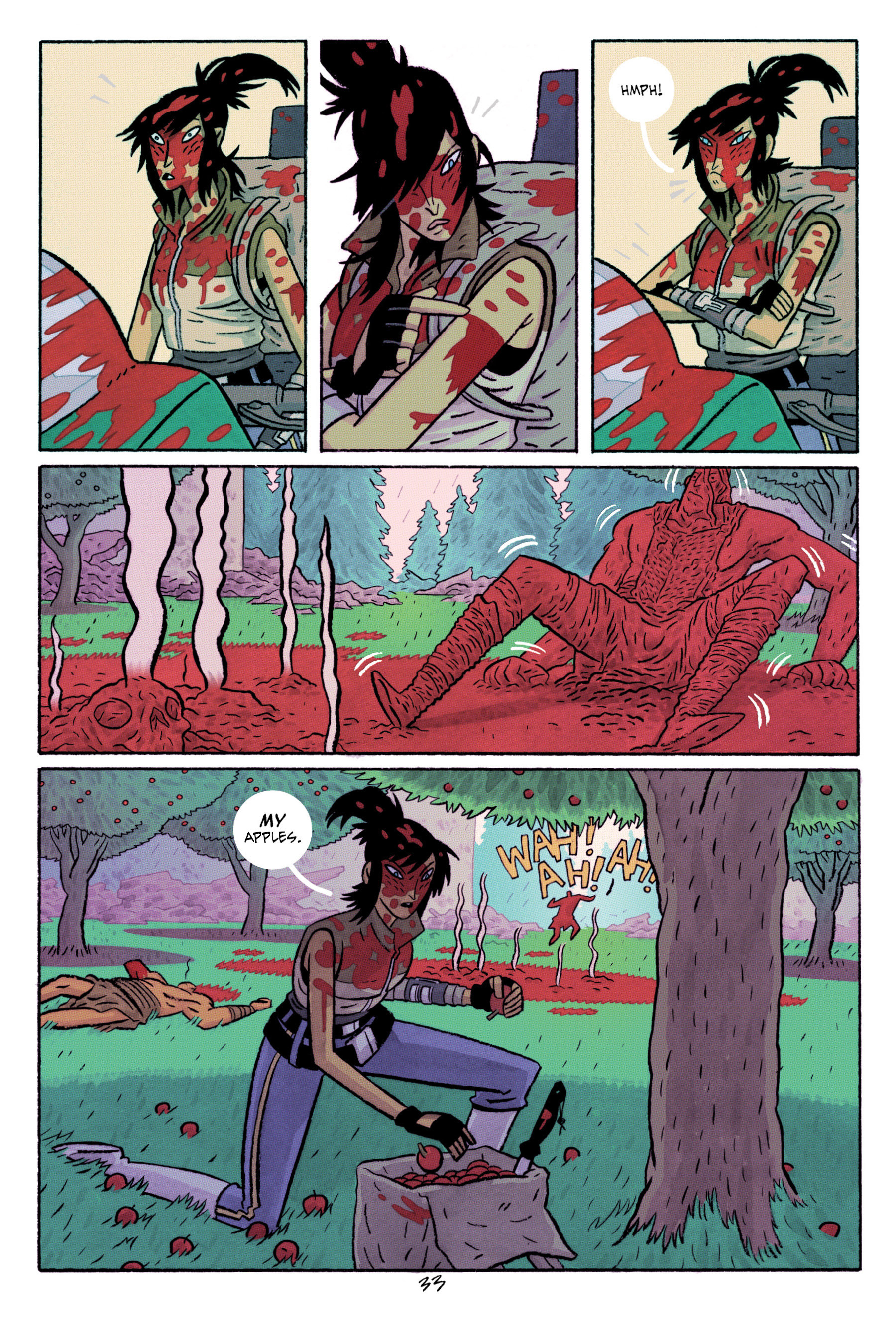 Read online ApocalyptiGirl: An Aria for the End Times comic -  Issue #ApocalyptiGirl: An Aria for the End Times Full - 41
