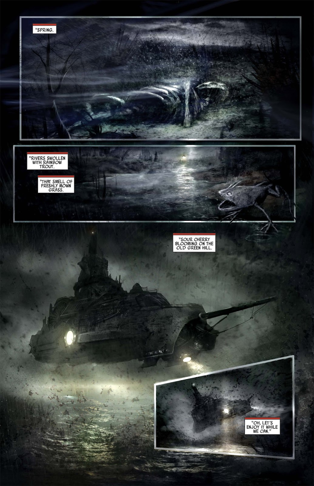 Read online After Dark comic -  Issue #1 - 4
